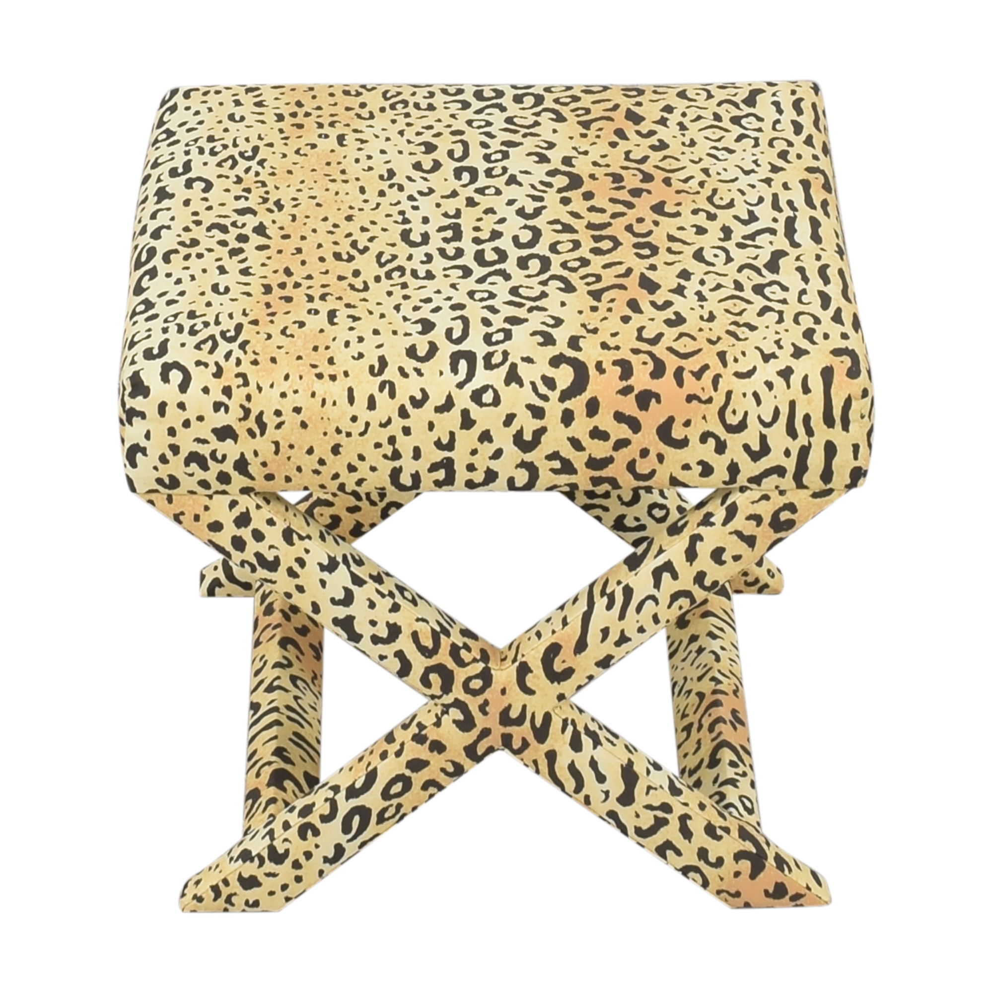 shop The Inside Leopard X Bench The Inside Chairs