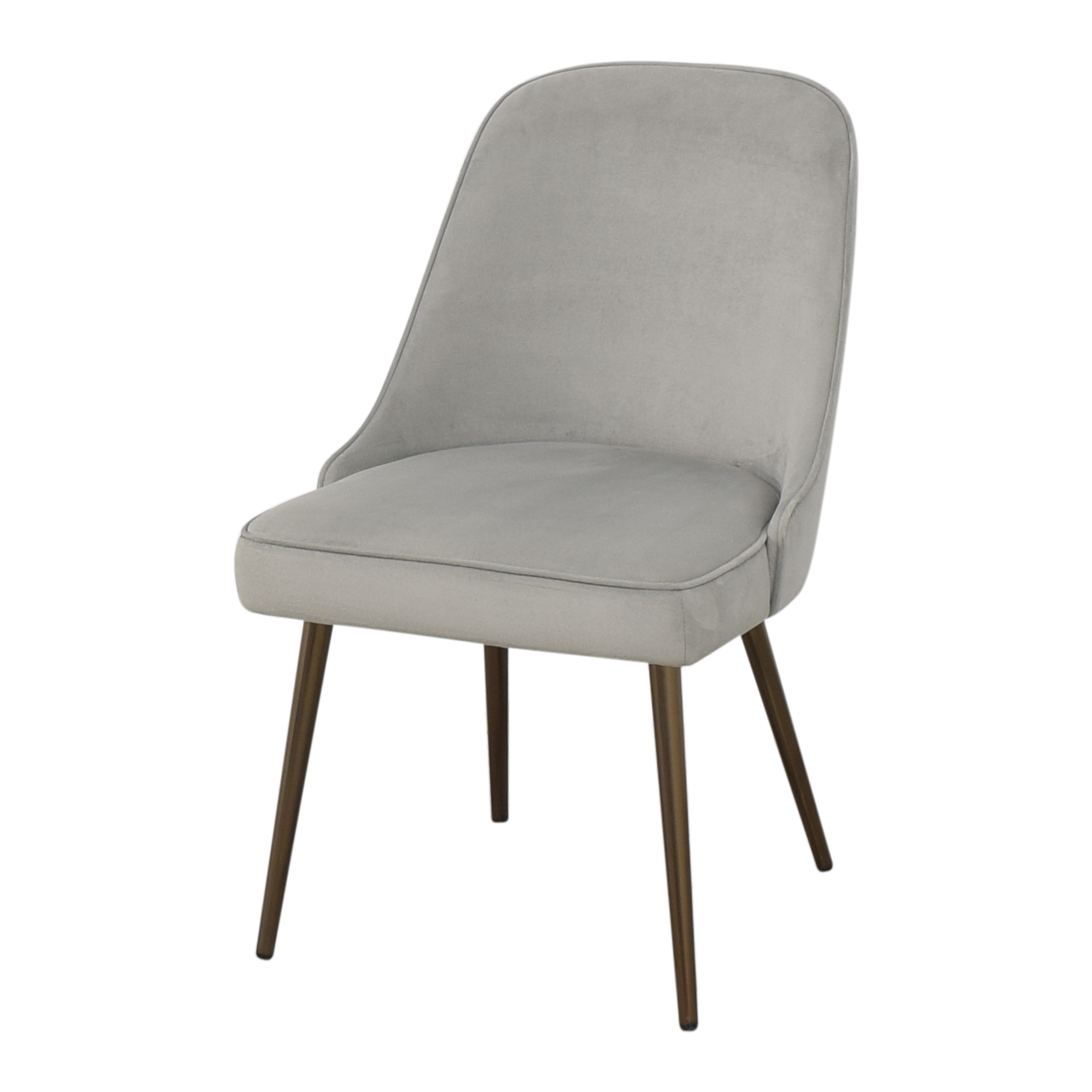 West Elm West Elm Mid Century Upholstered Dining Chair for sale