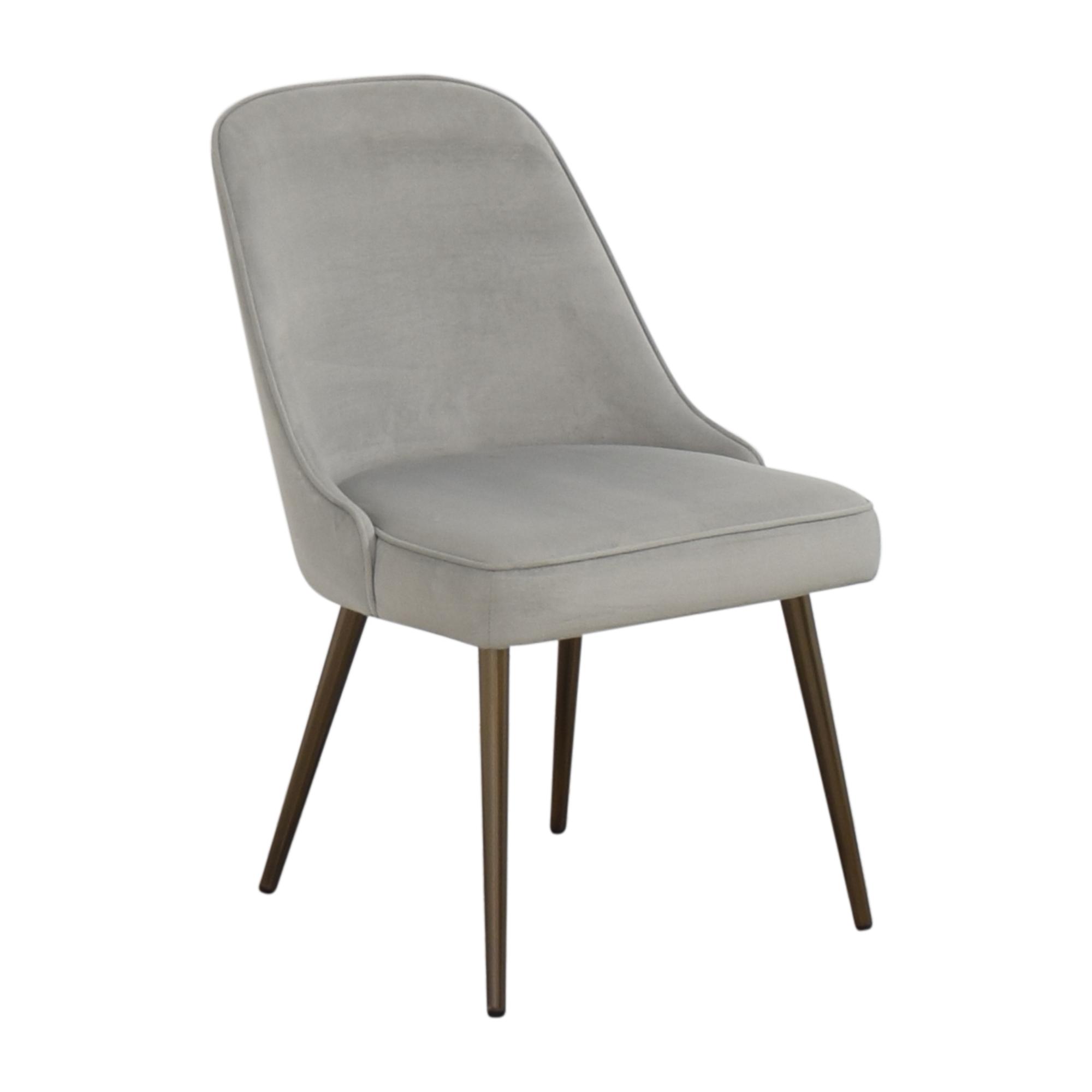shop West Elm West Elm Mid Century Upholstered Dining Chair online
