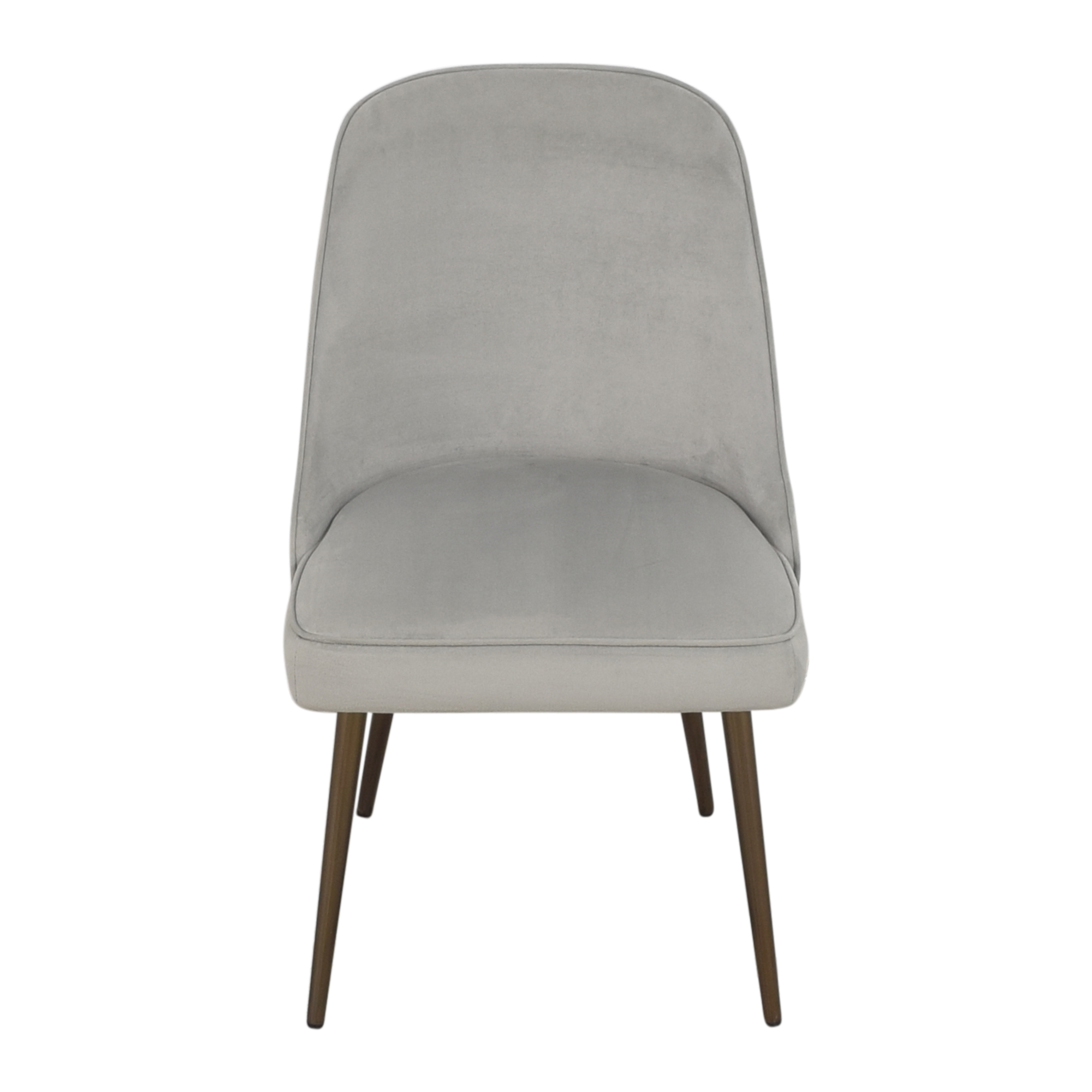 West Elm West Elm Mid Century Upholstered Dining Chair pa