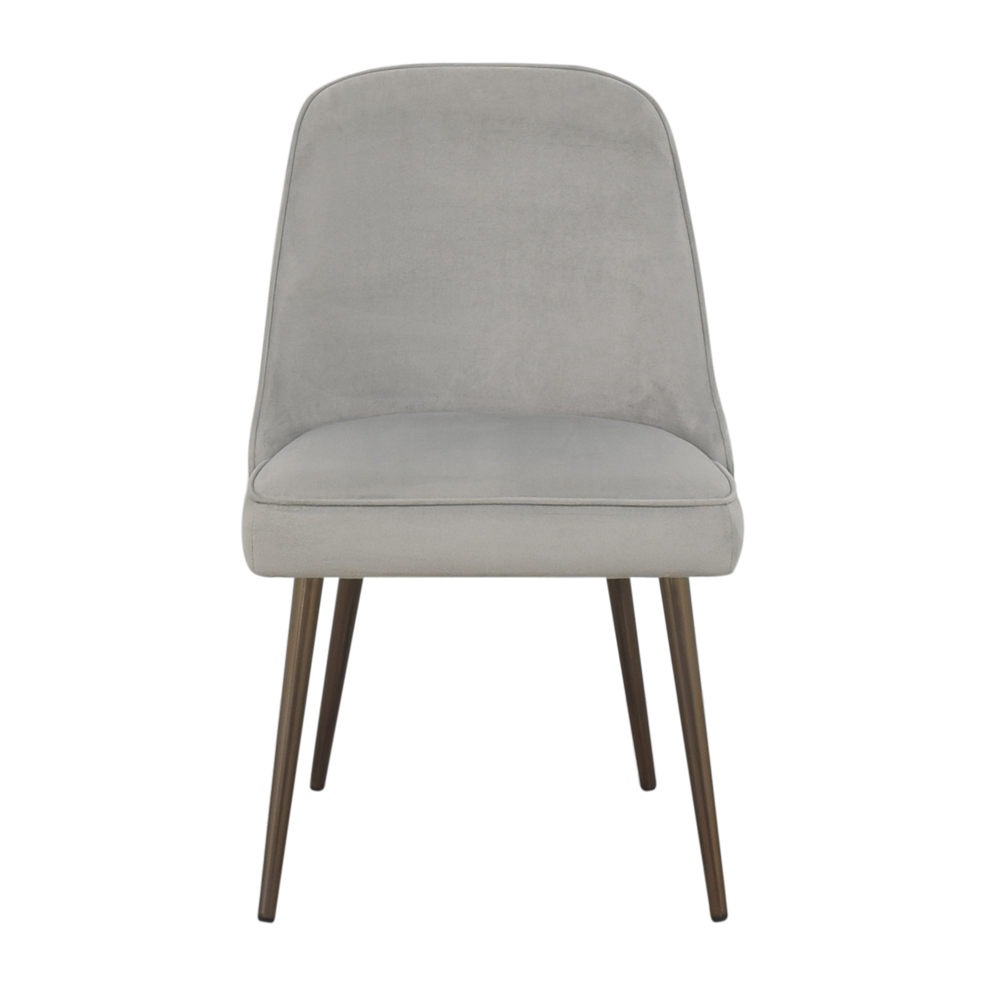 shop West Elm Mid Century Upholstered Dining Chair West Elm Dining Chairs