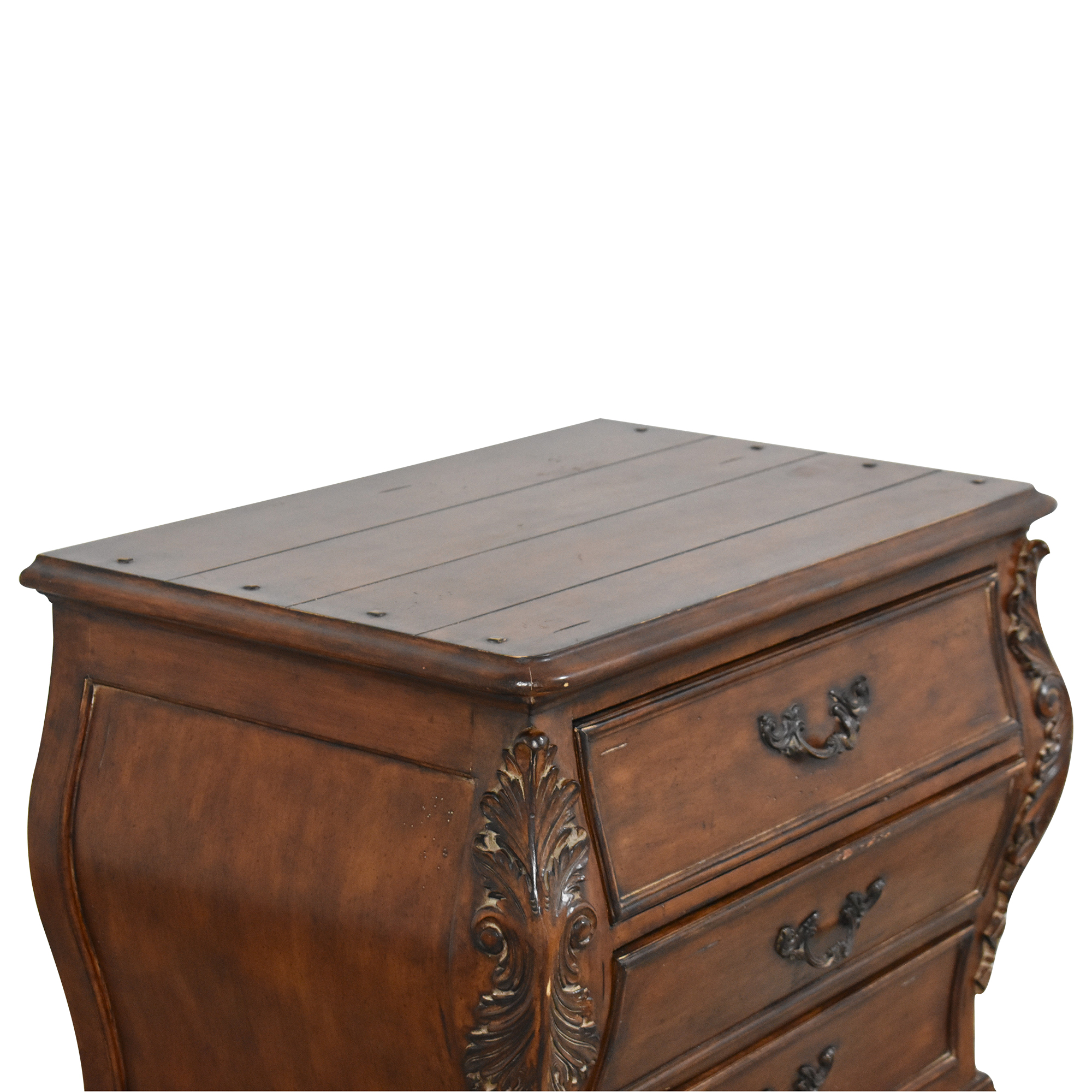Thomasville Thomasville Chateau Provence Three Drawer Nightstand End Tables