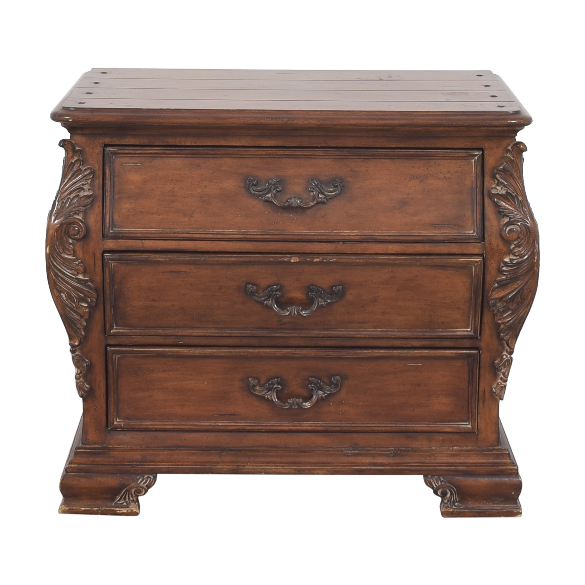 Thomasville Thomasville Chateau Provence Three Drawer Nightstand dimensions
