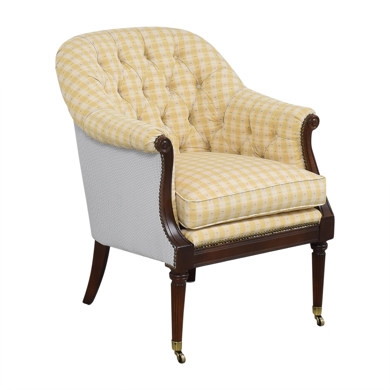 shop Lillian August Tufted Arm Chair Lillian August Chairs