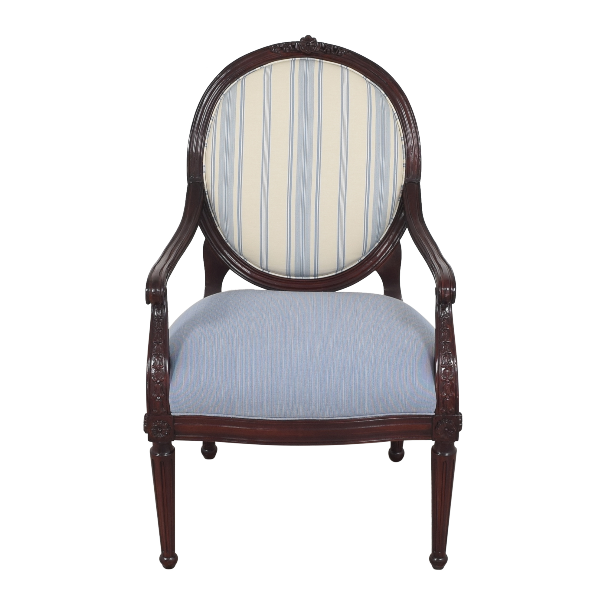 Hancock and Moore Circle Back Accent Chair / Chairs