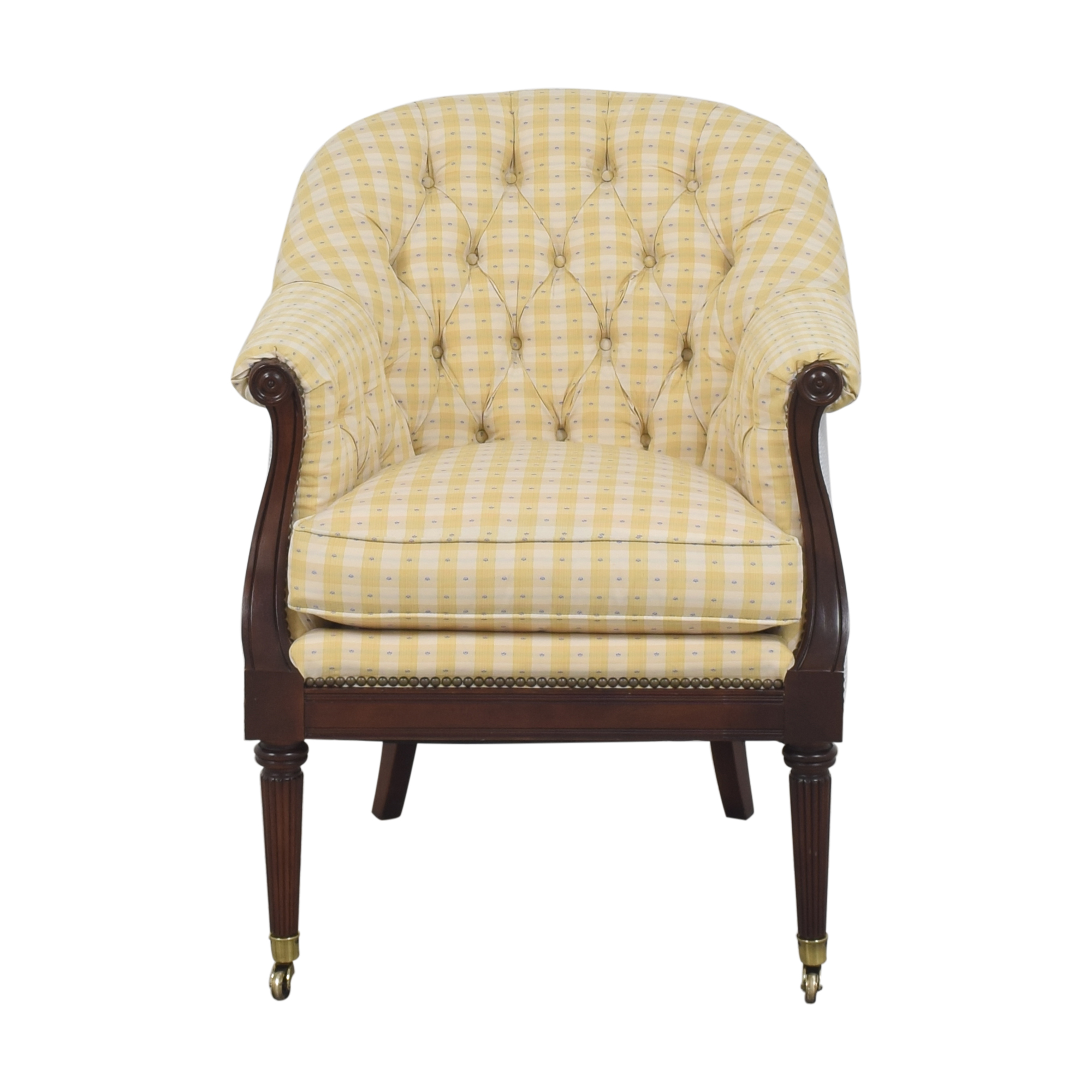 Lillian August Tufted Arm Chair sale