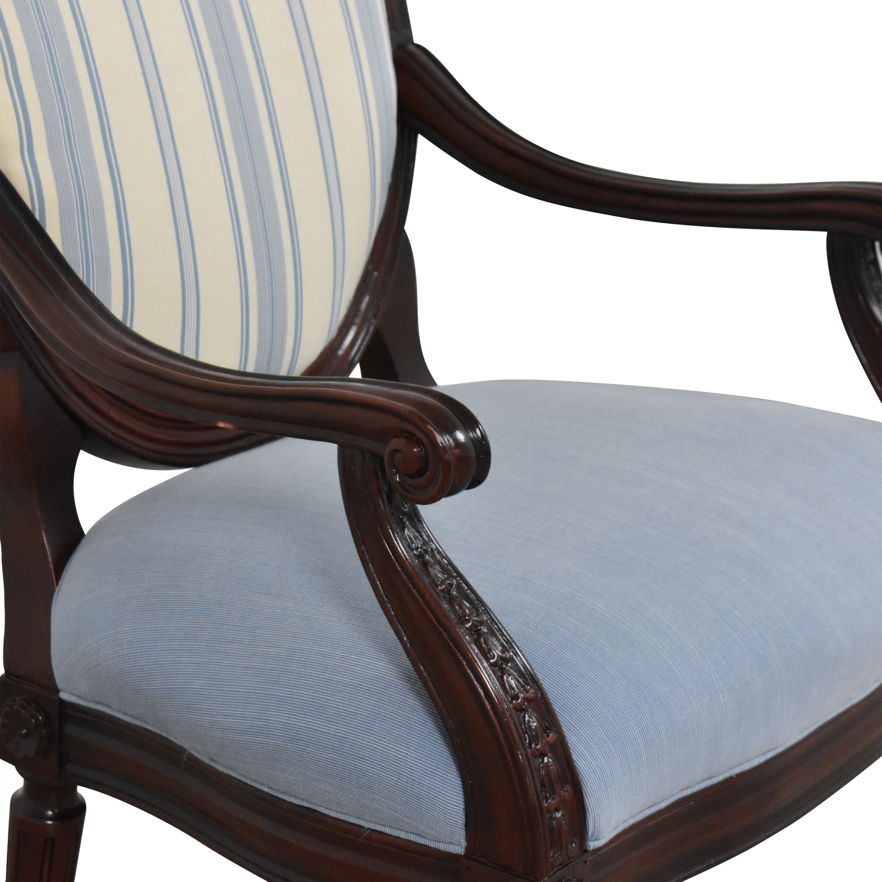 Hancock and Moore Hancock and Moore Circle Back Accent Chair dimensions