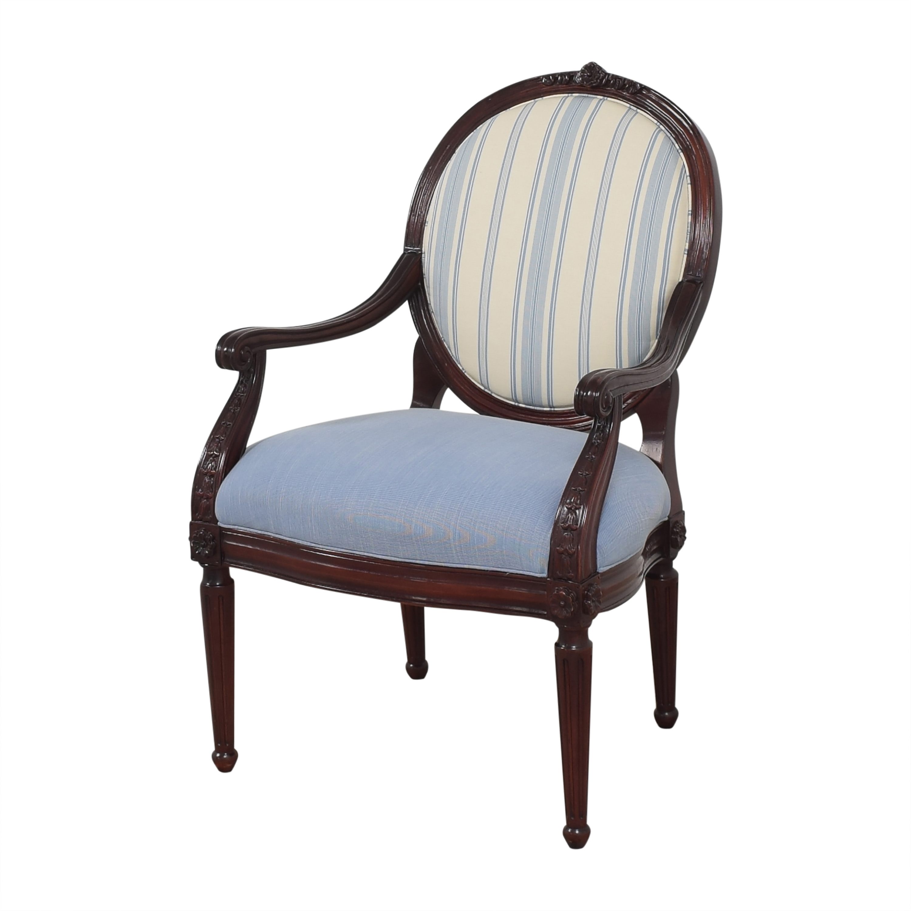 shop Hancock and Moore Circle Back Accent Chair Hancock and Moore Chairs