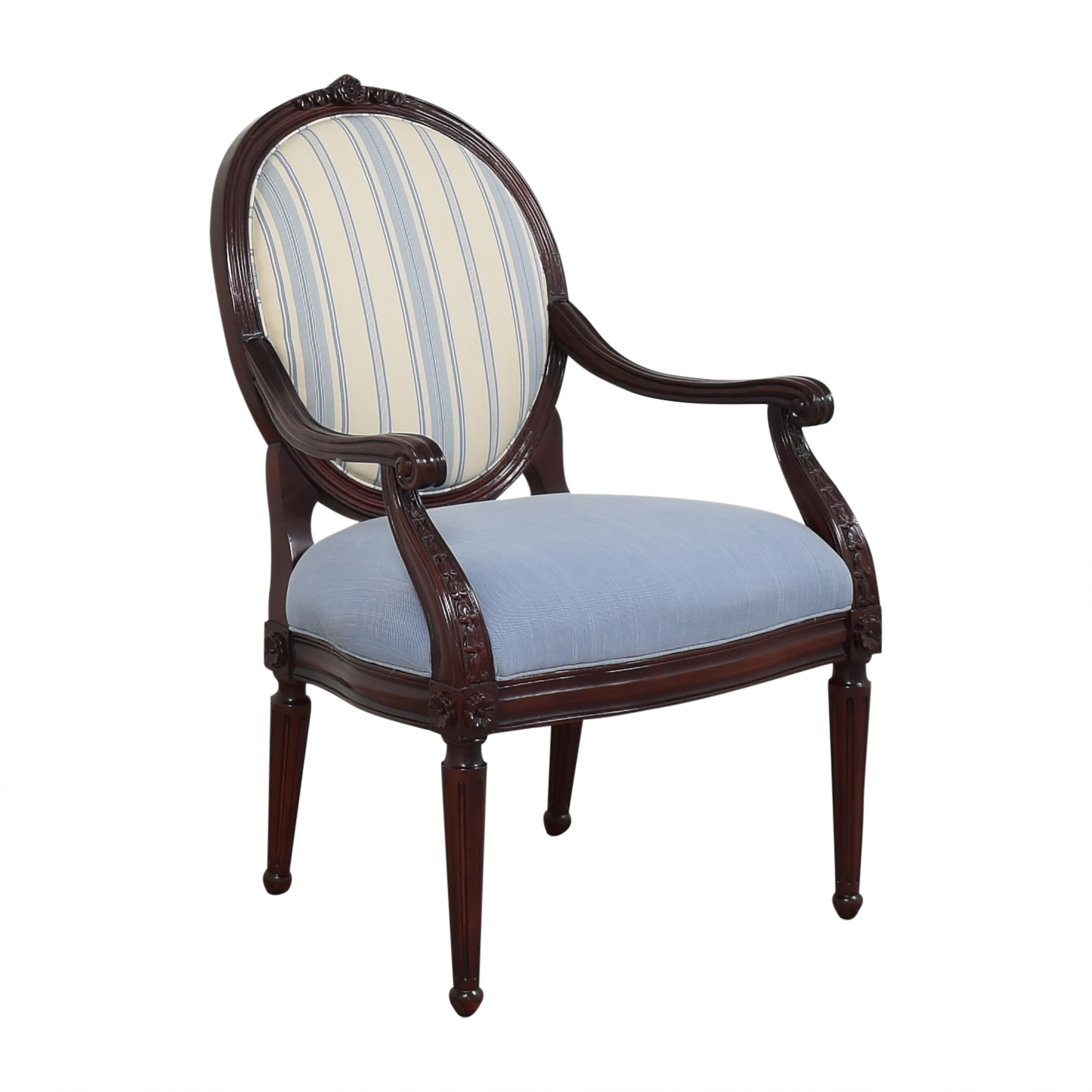 Hancock and Moore Circle Back Accent Chair / Accent Chairs