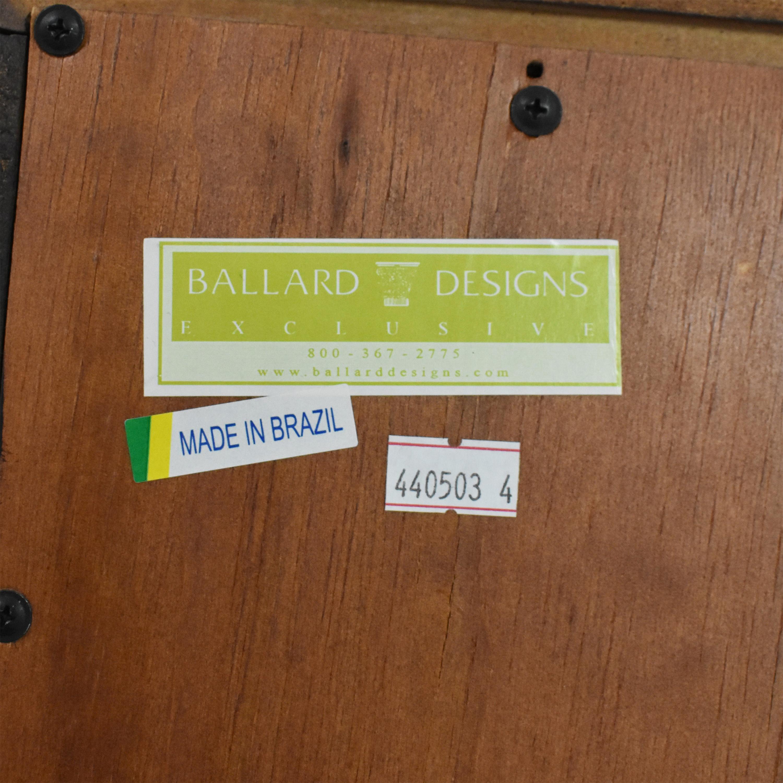 51 Off Ballard Designs Casa Florentina Josephina Bookcase Storage