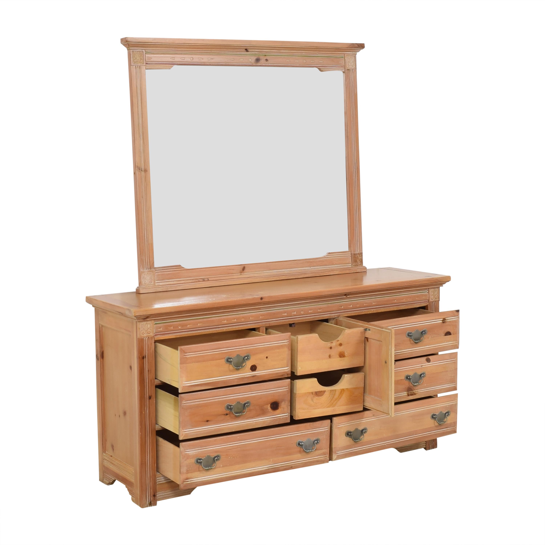 Vaughan Furniture Vaughan Furniture Door Dresser with Mirror dimensions