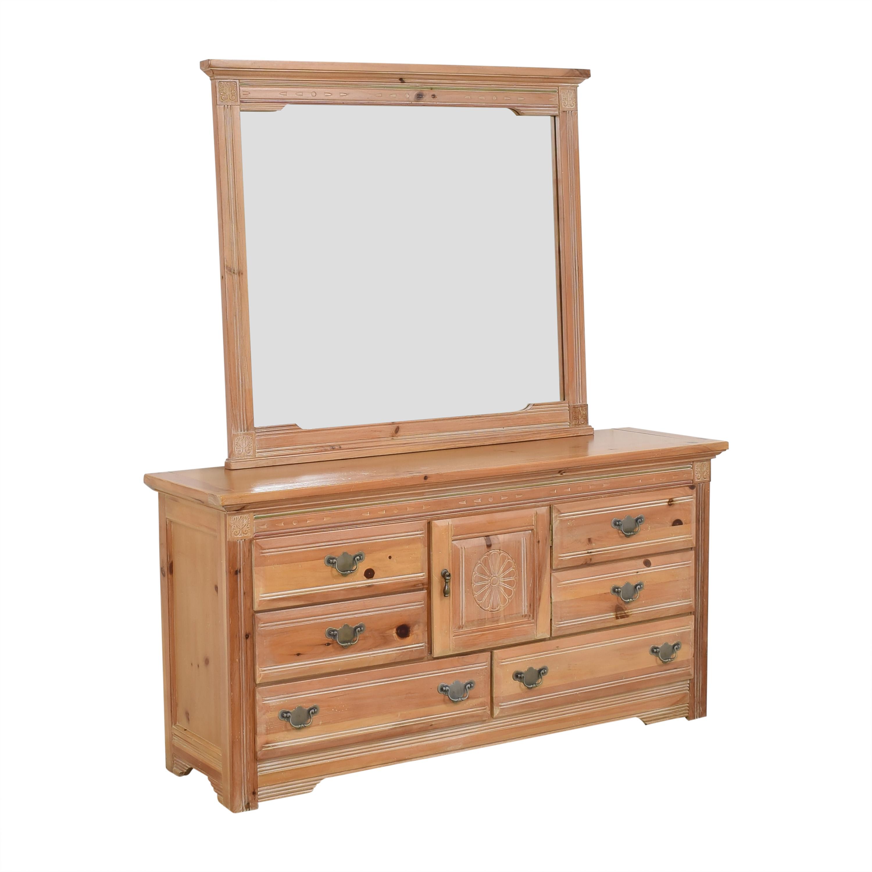 Vaughan Furniture Vaughan Furniture Door Dresser with Mirror ct