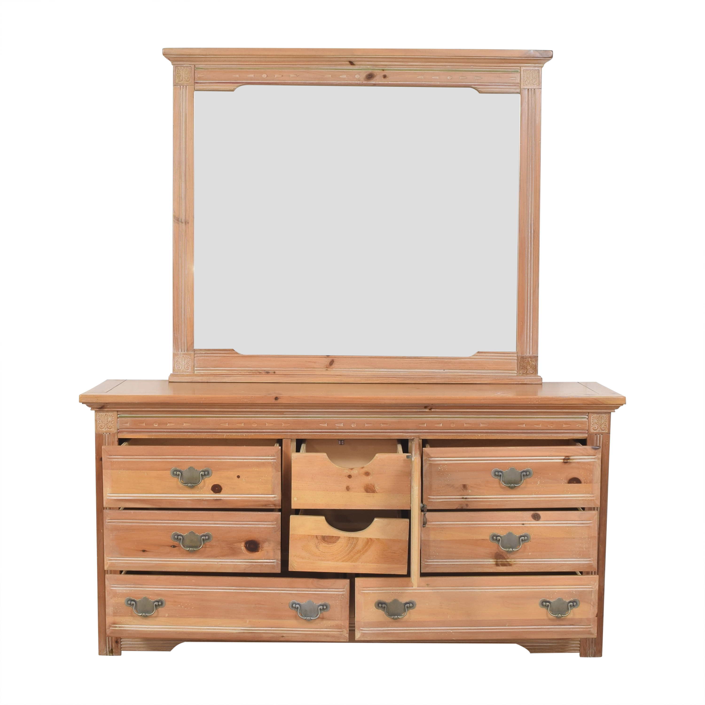 shop Vaughan Furniture Vaughan Furniture Door Dresser with Mirror online