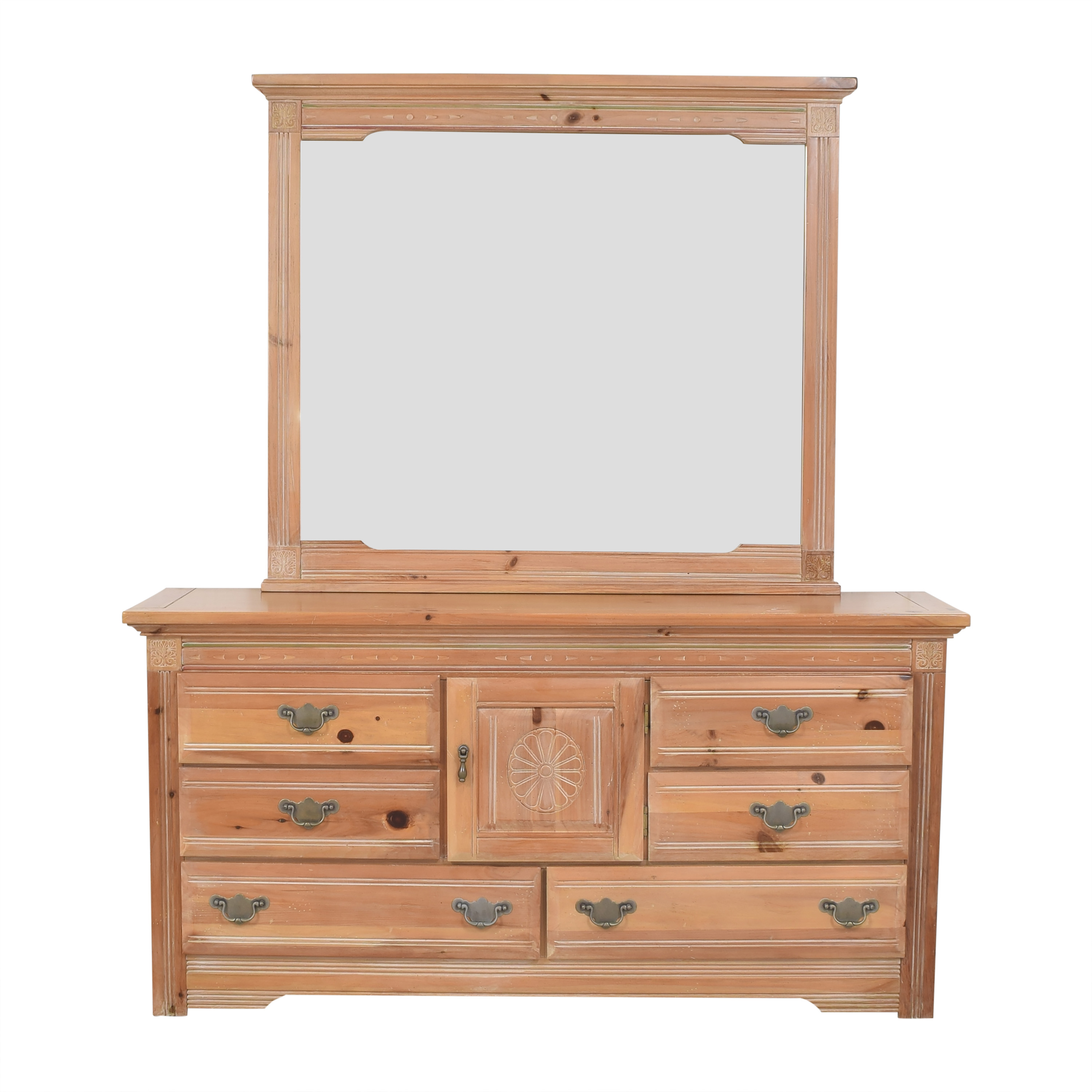 Vaughan Furniture Vaughan Furniture Door Dresser with Mirror nyc