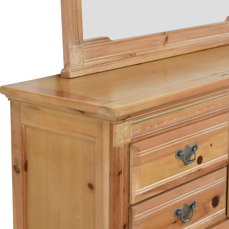 buy Vaughan Furniture Door Dresser with Mirror Vaughan Furniture Storage
