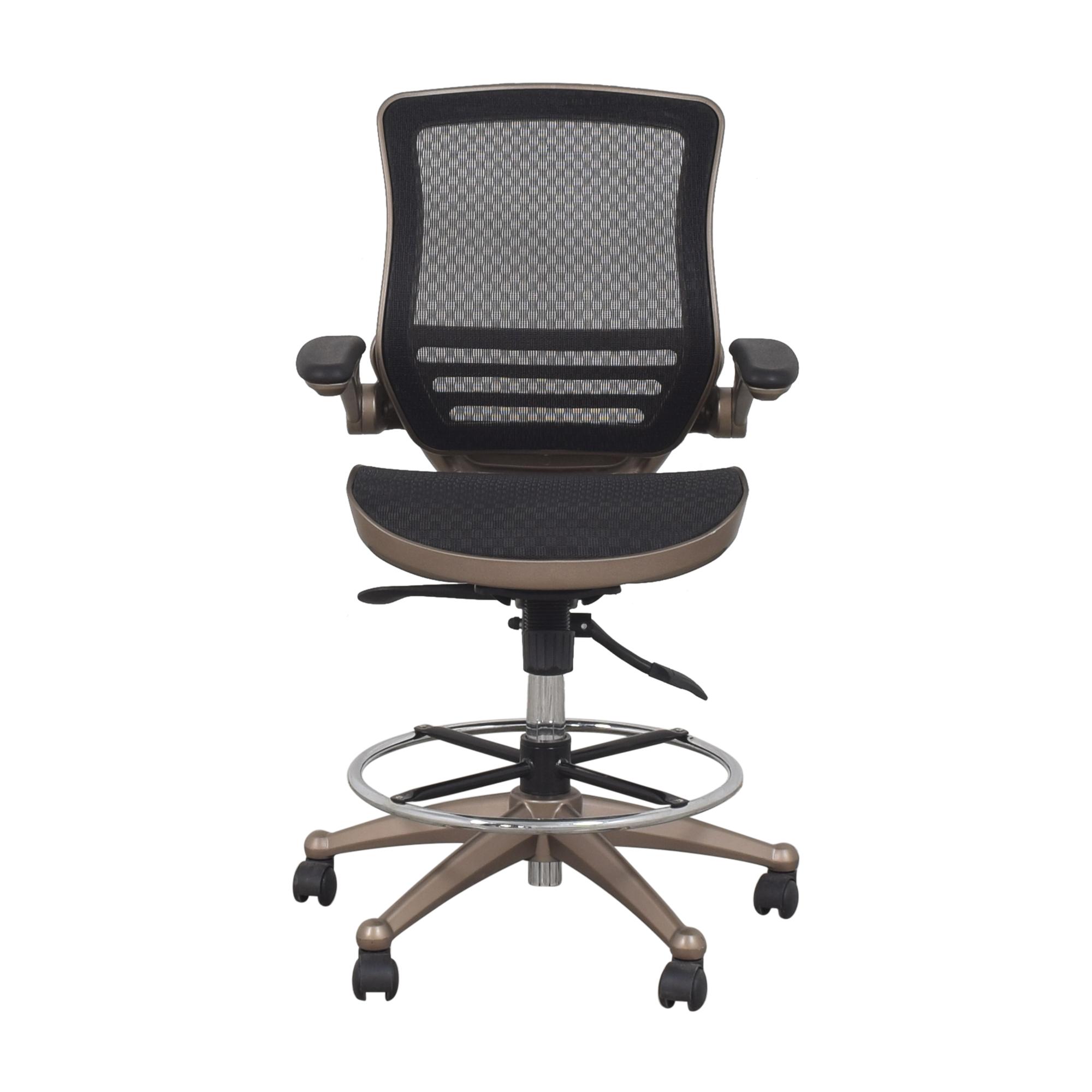 Wayfair Wayfair Ebern Designs Mignone Drafting Chair nj