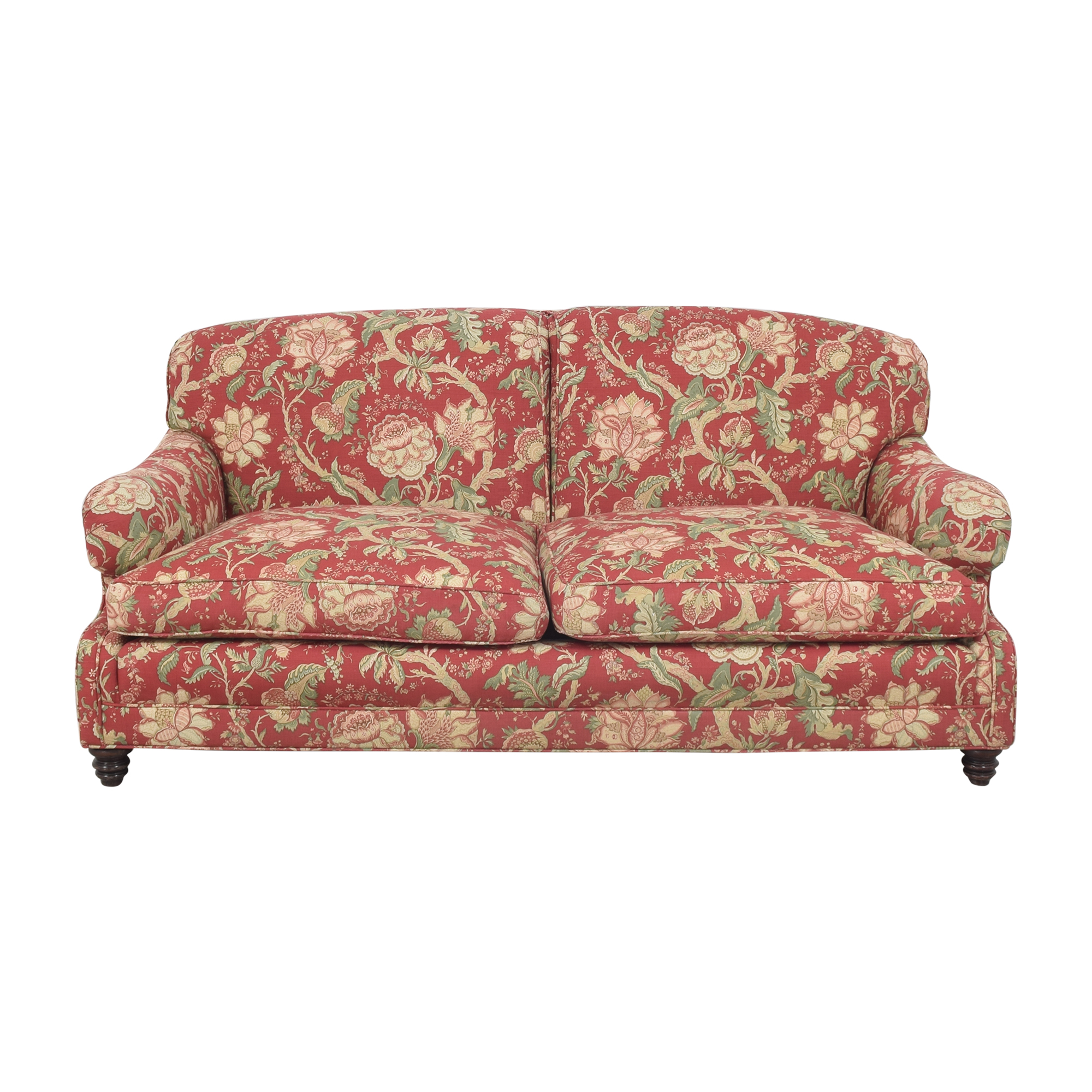 Barclay Butera Home Barclay Butera Home Floral Upholstered Sofa dimensions