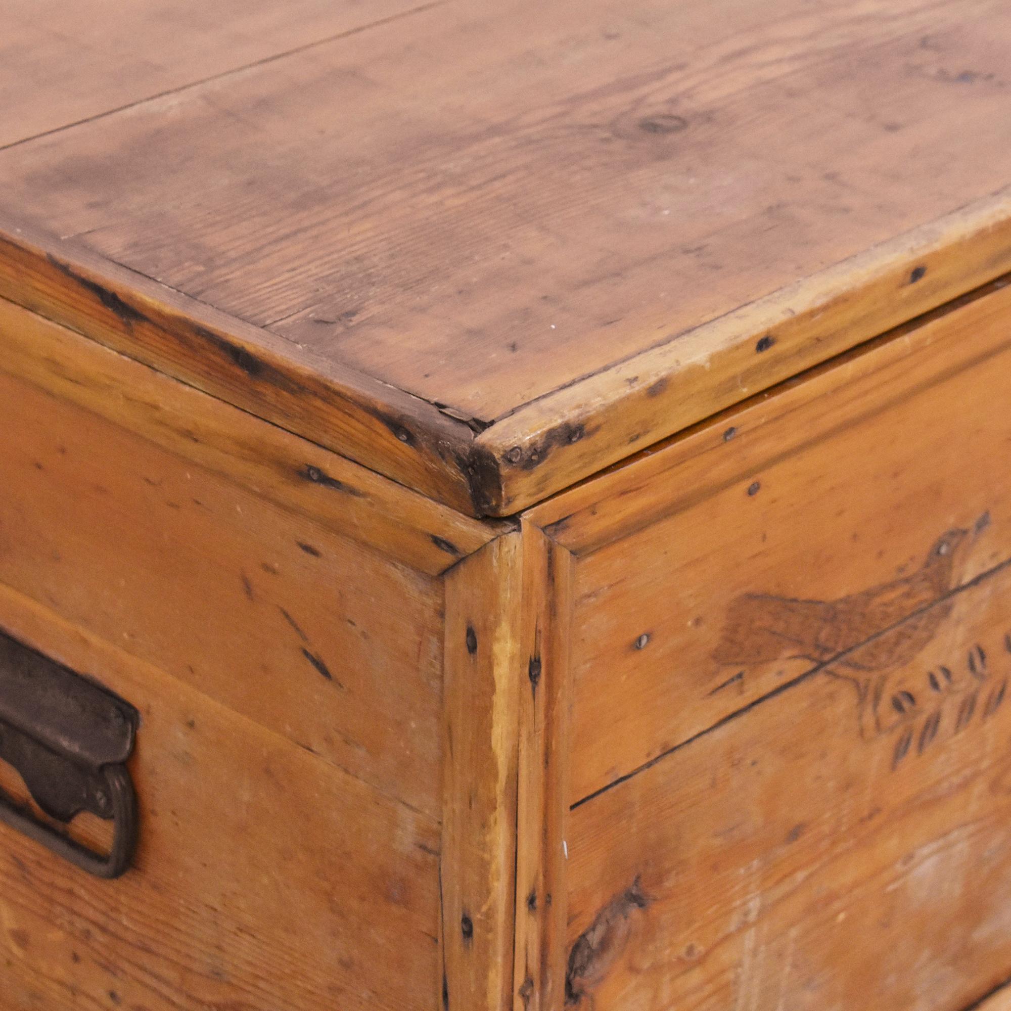 Antique Storage Trunk ct