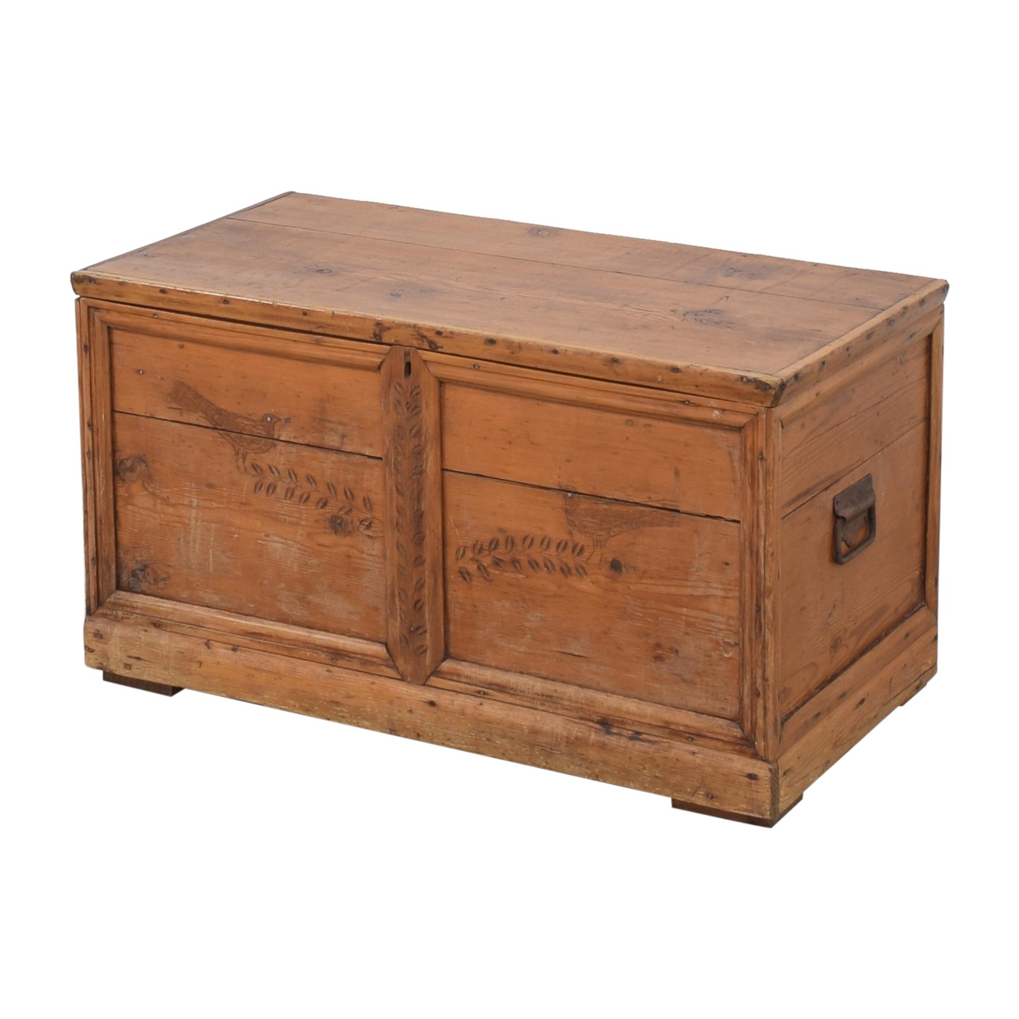 shop Antique Storage Trunk  Trunks