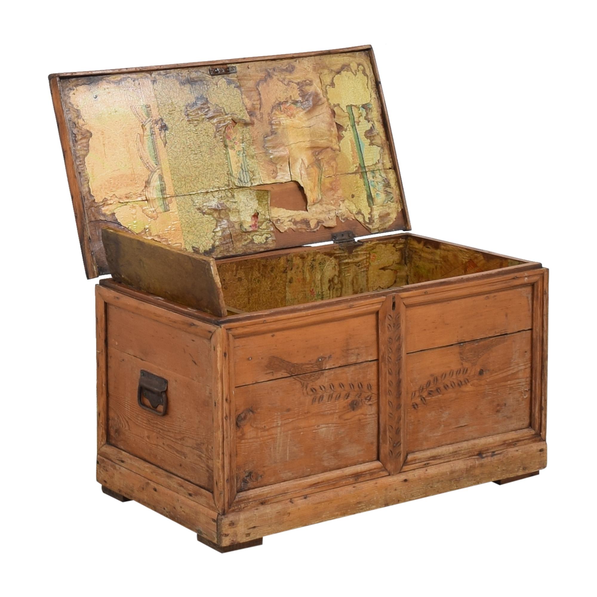 Antique Storage Trunk on sale