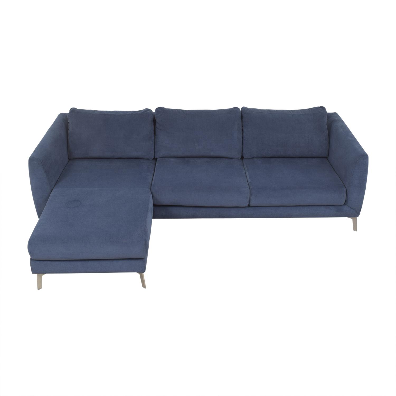BoConcept Fargo Chaise Sectional Sofa sale
