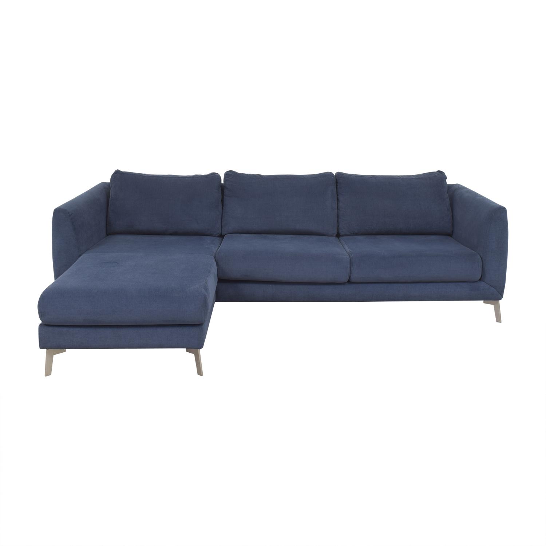 shop BoConcept Fargo Chaise Sectional Sofa BoConcept Sectionals