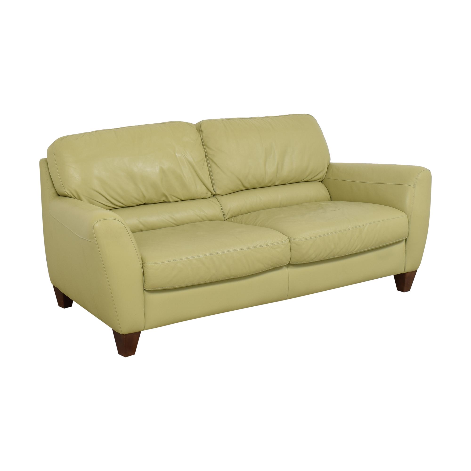 Italsofa Italsofa Two Cushion Sofa dimensions