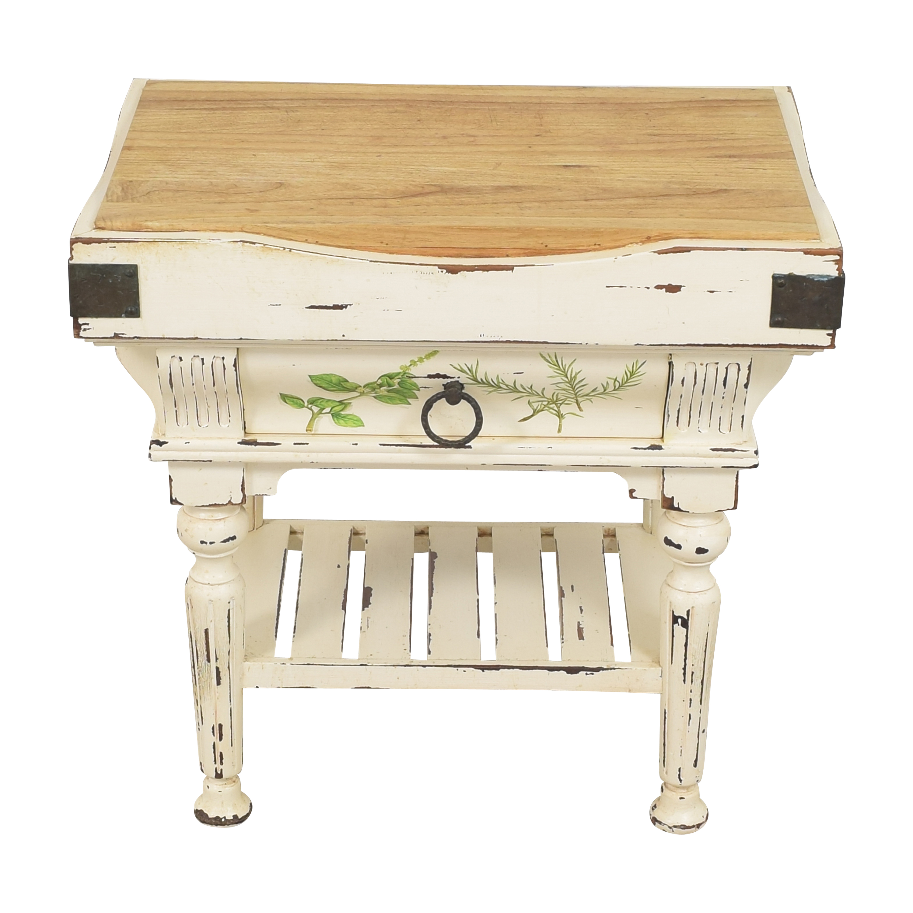 shop Red Tree Small Boucherie Butcher Block Island Red Tree Tables