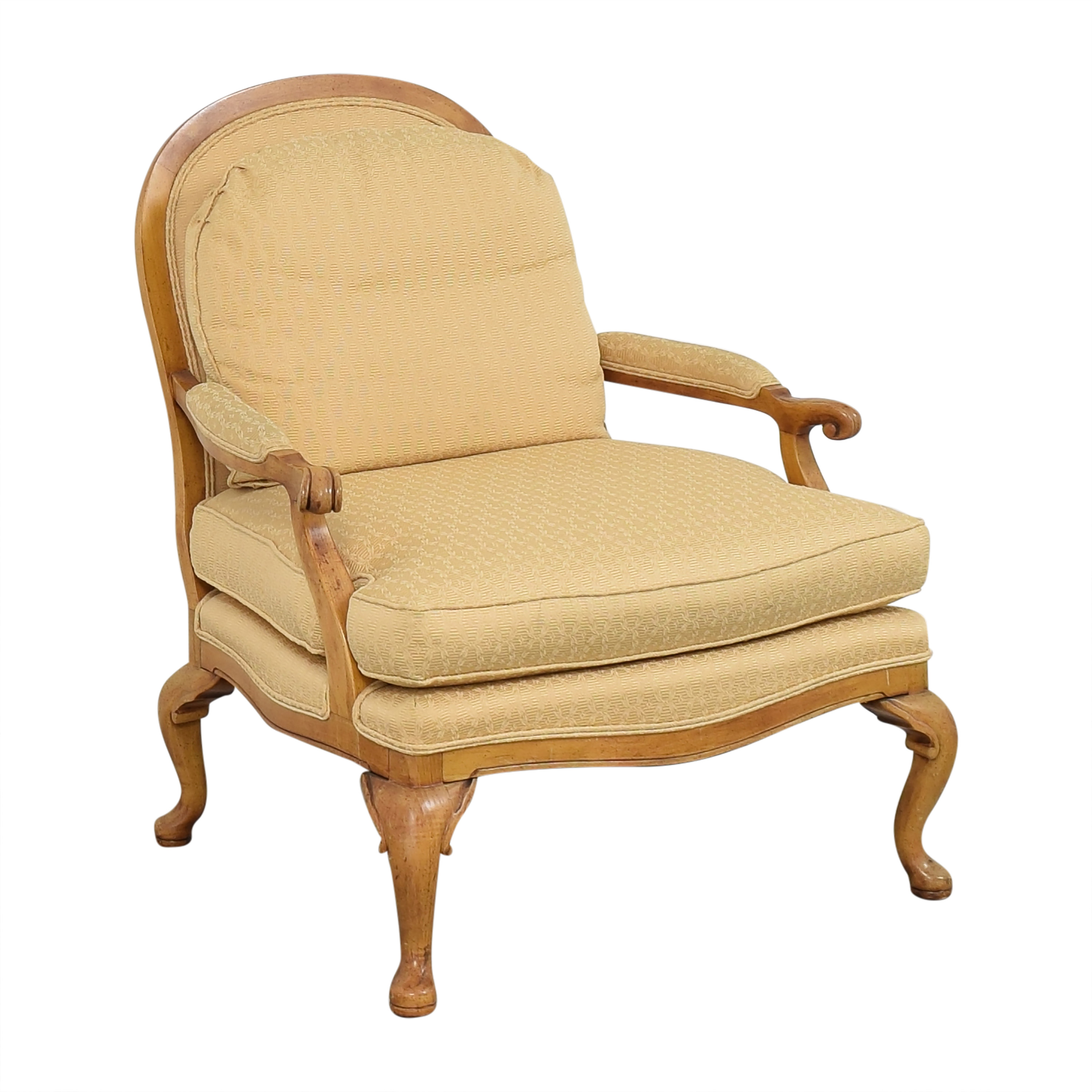shop Highland House Accent Fauteuil Chair Highland House Furniture Accent Chairs