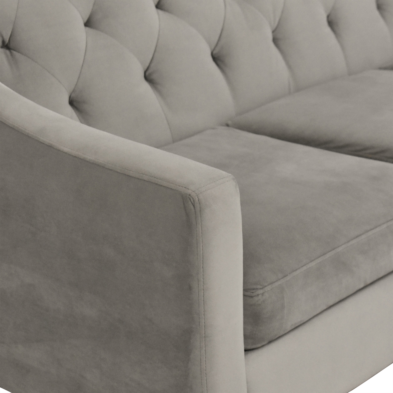 buy Macy's Chloe II Tufted Sofa Macy's Sofas