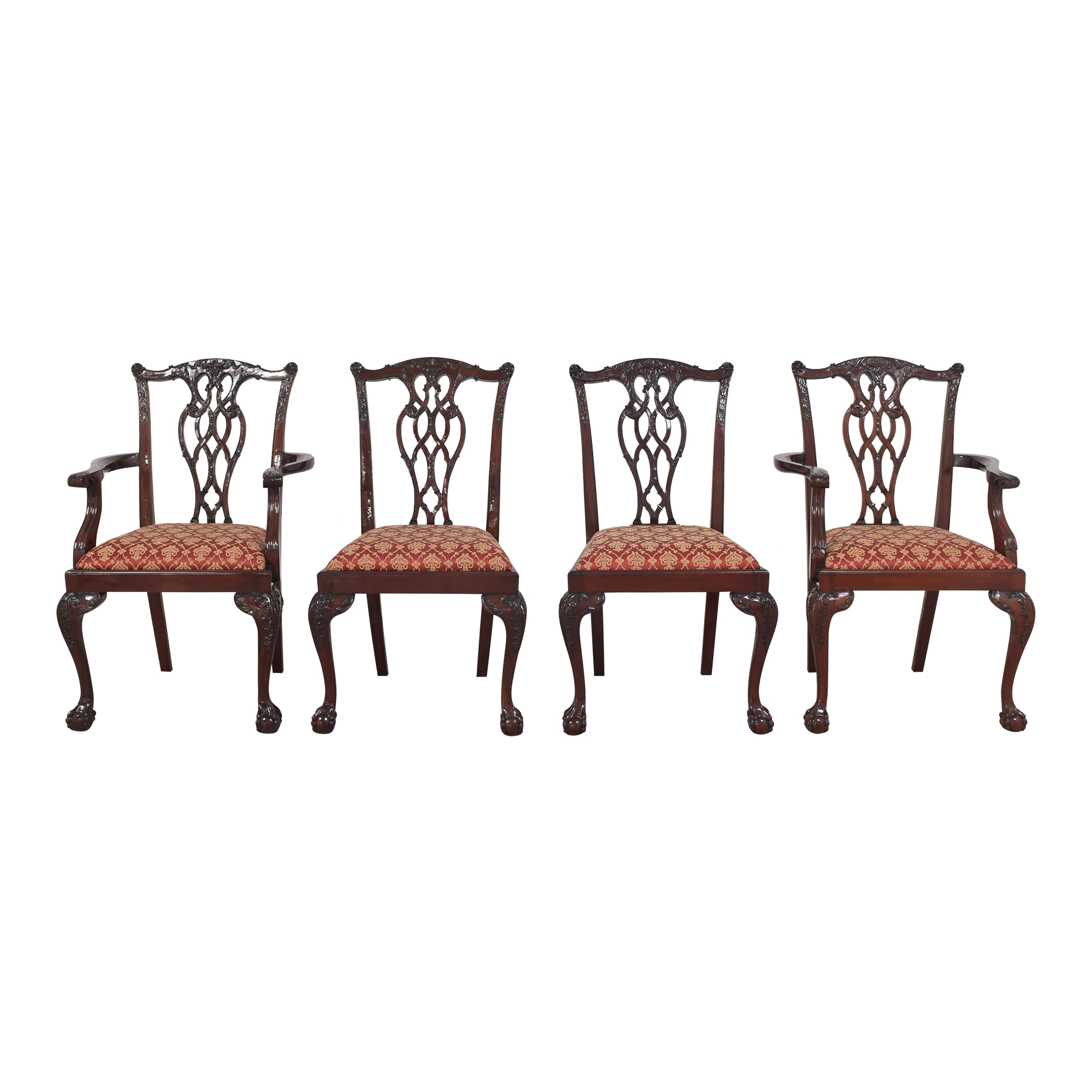 Chippendale-Style Dining Chairs ct