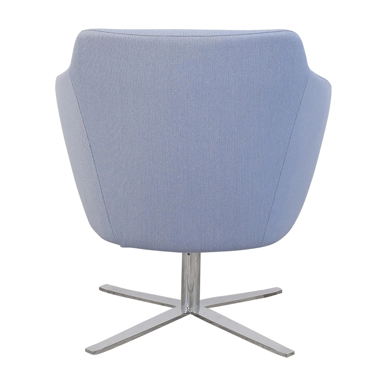 Global Furniture Group  Global Furniture Group Drift Low Back Swivel Lounge Chair