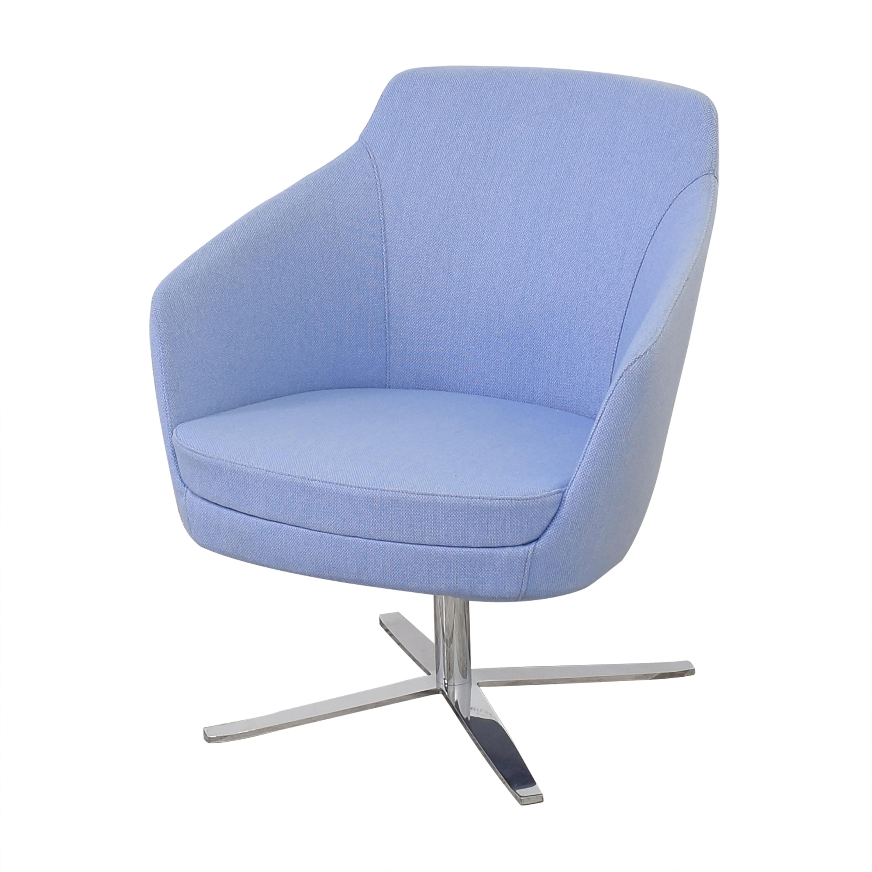 shop  Global Furniture Group Drift Low Back Swivel Lounge Chair Global Furniture Group Accent Chairs