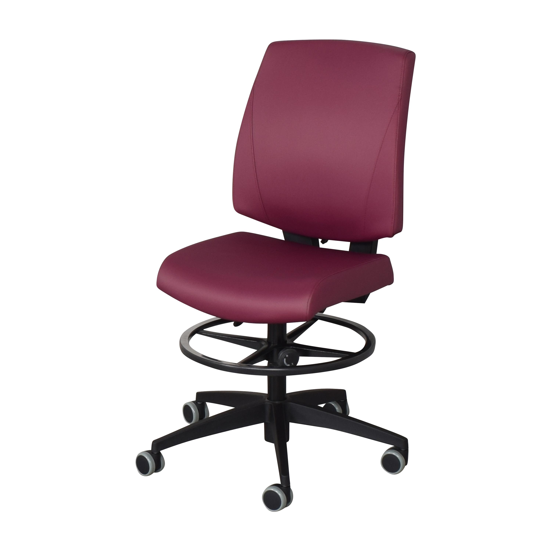 Global Furniture Group Global Furniture Group G1 Ergo Select Armless Medium Back Chair  nyc