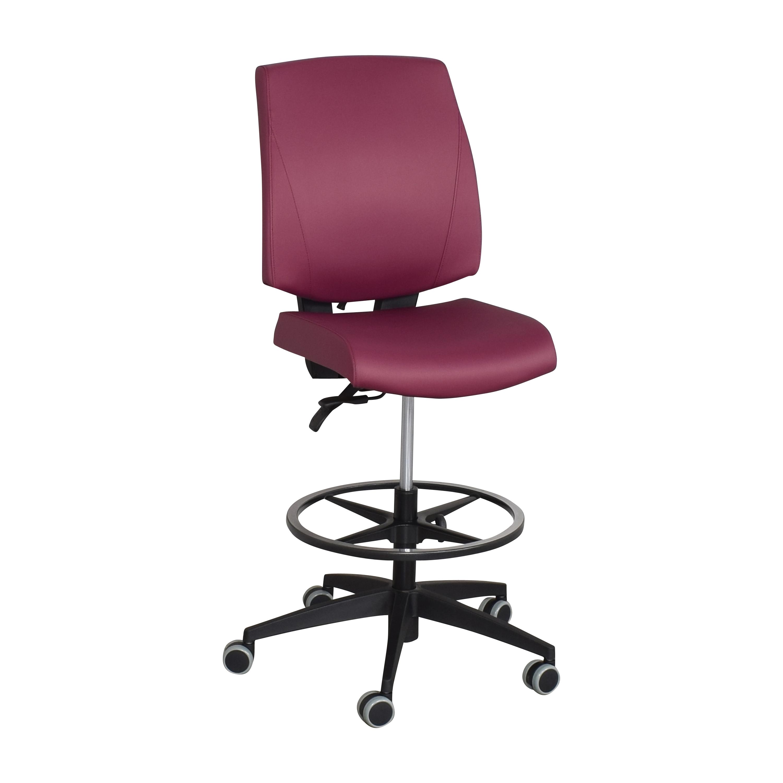 Global Furniture Group G1 Ergo Select Armless Medium Back Chair  Global Furniture Group
