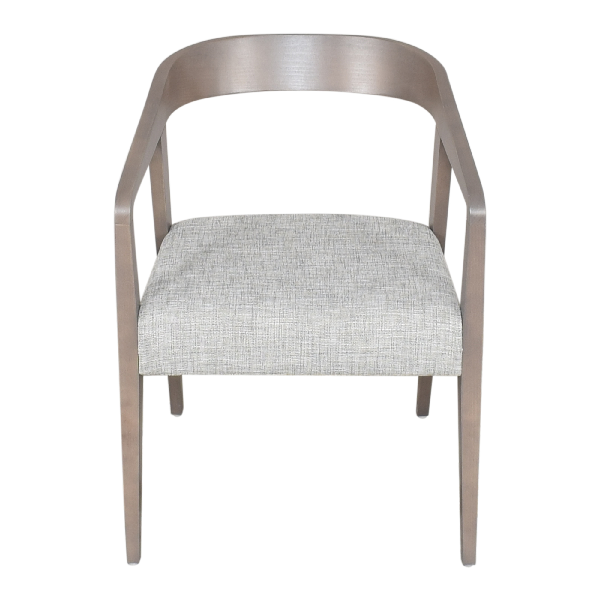 Global Furniture Group Global Furniture Group Chap Round Back Upholstered Armchair second hand