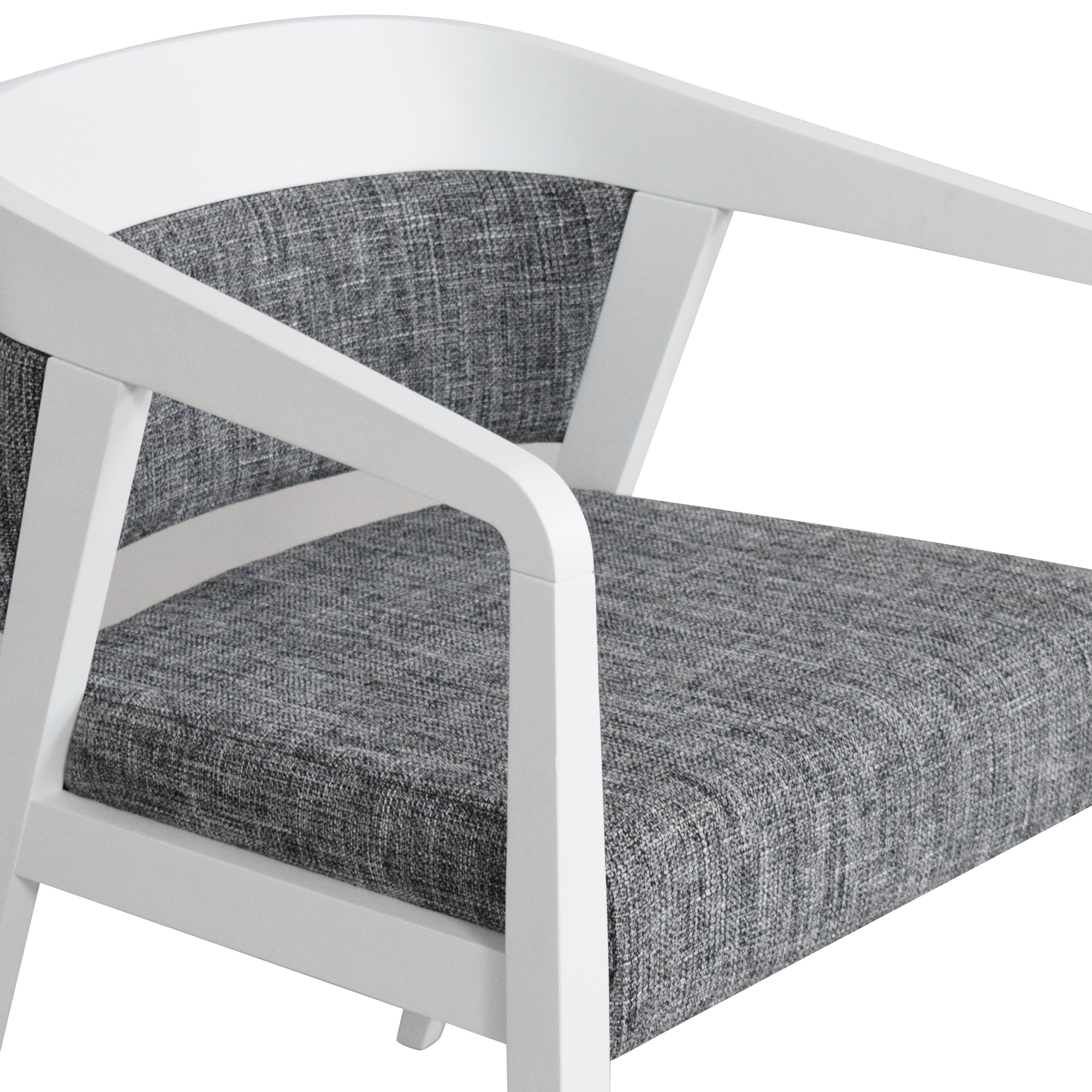 Global Furniture Group Global Furniture Group Chap Upholstered Round Back Armchair