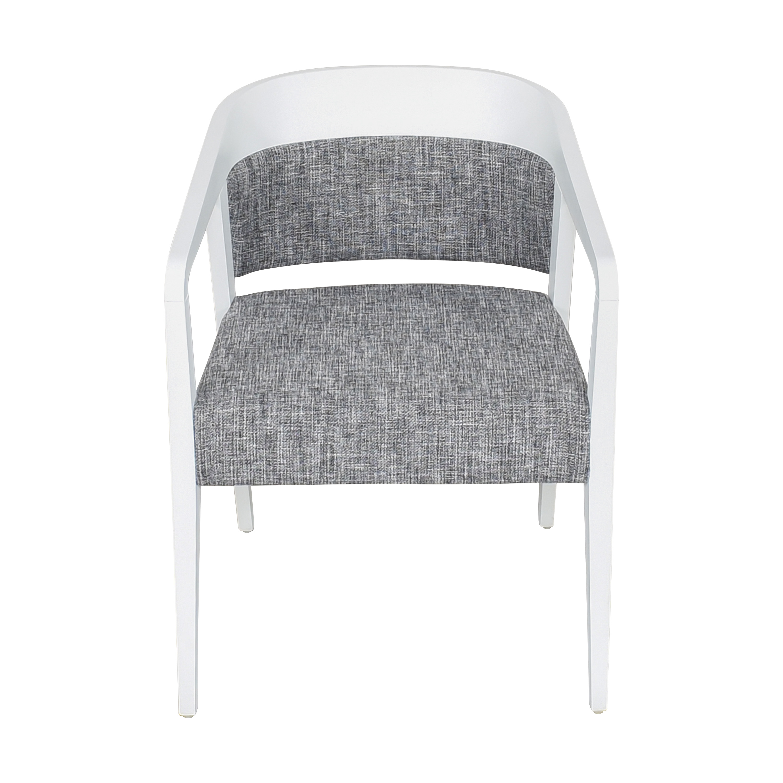 Global Furniture Group Global Furniture Group Chap Upholstered Round Back Armchair nj
