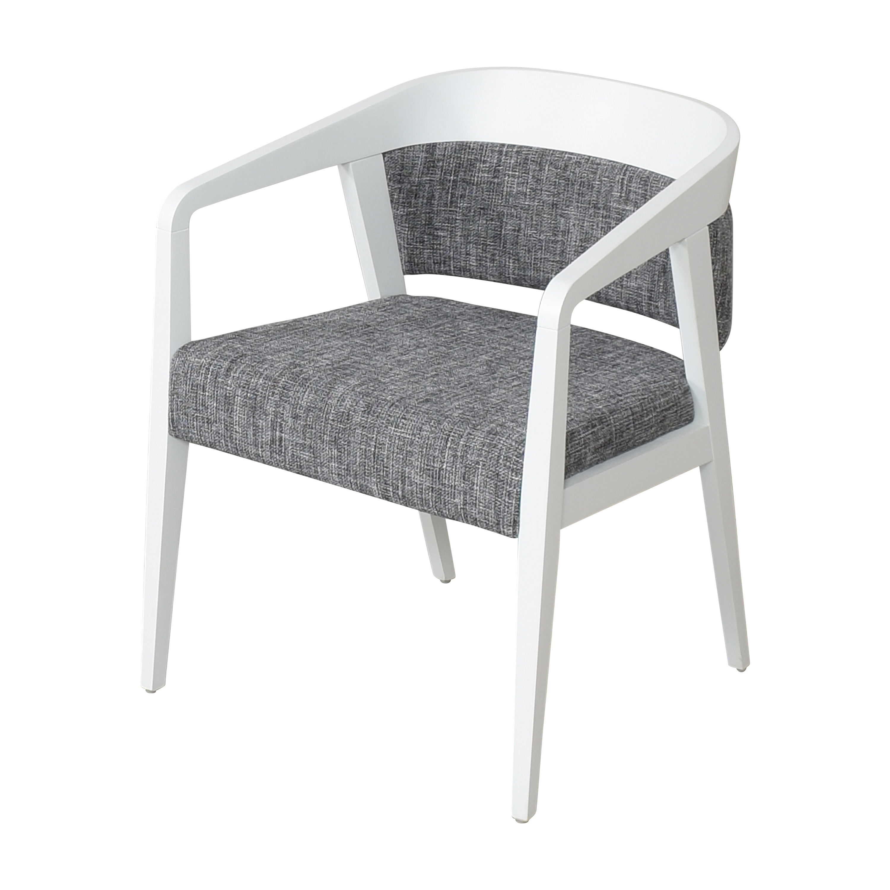 Global Furniture Group Global Furniture Group Chap Upholstered Round Back Armchair Chairs