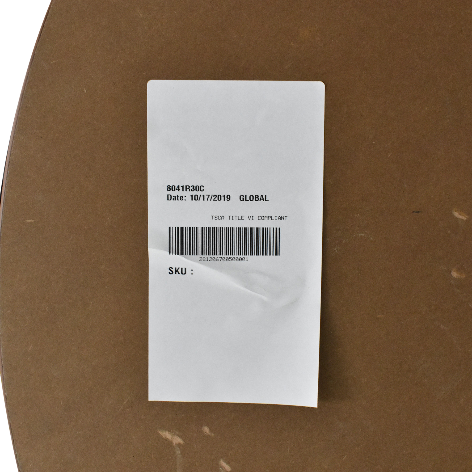 Global Furniture Group Global Furniture Group Drift Table brown