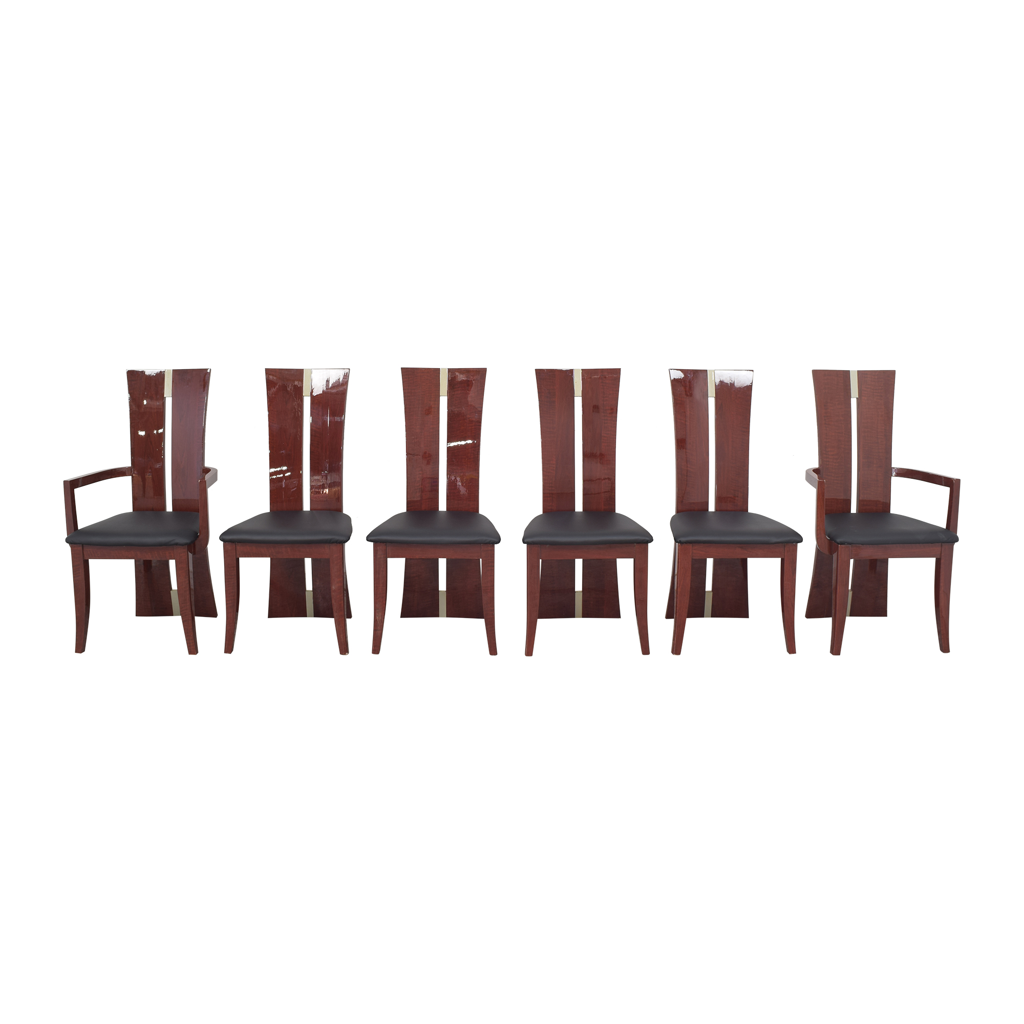 High Back Dining Chairs for sale