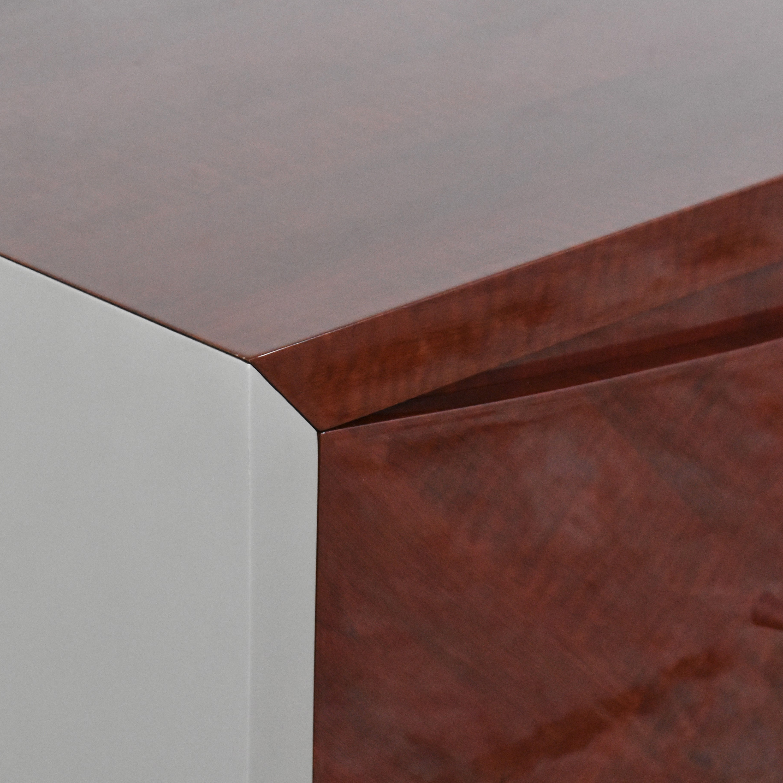 Modern-Style Four Door Credenza / Storage