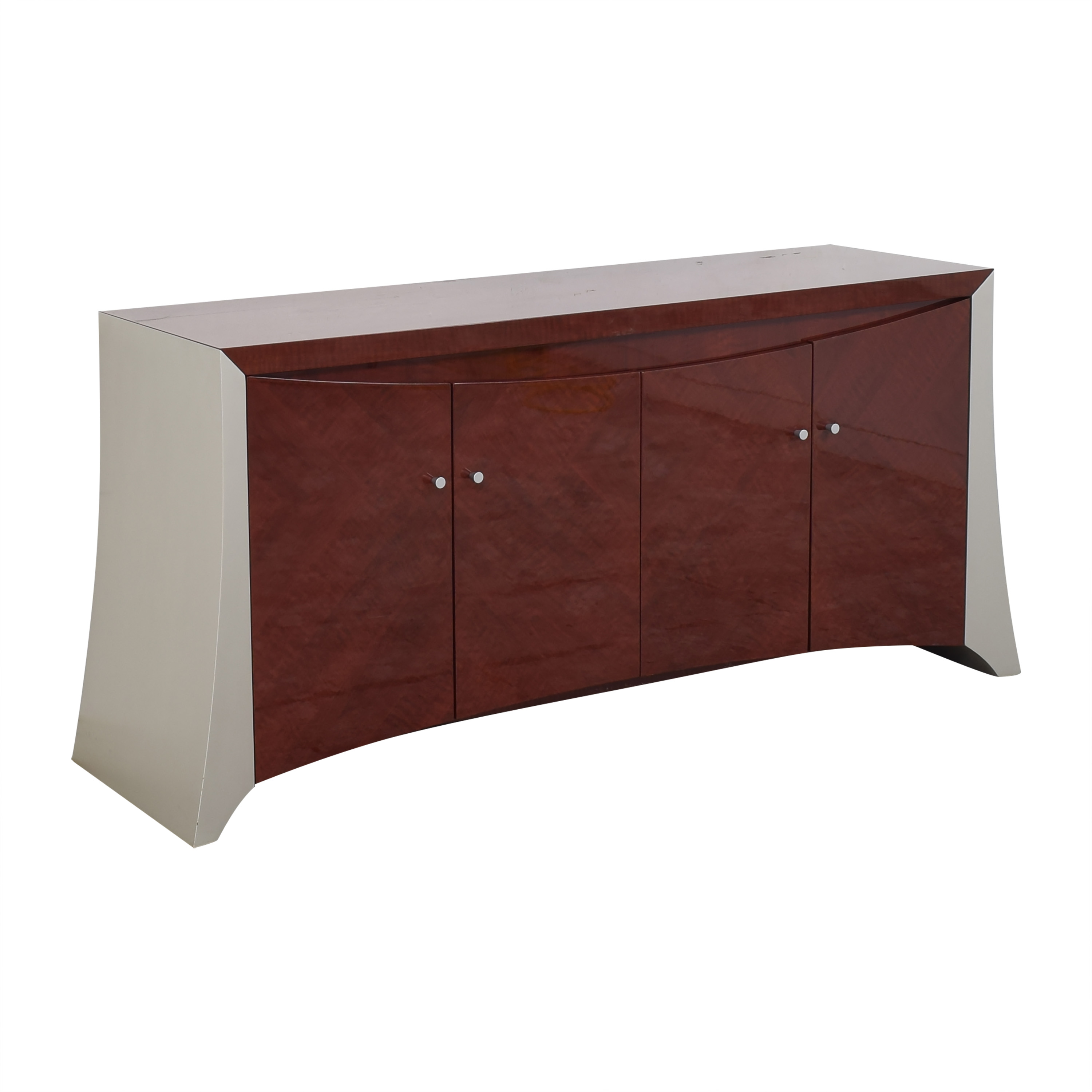 buy Modern-Style Four Door Credenza  Cabinets & Sideboards