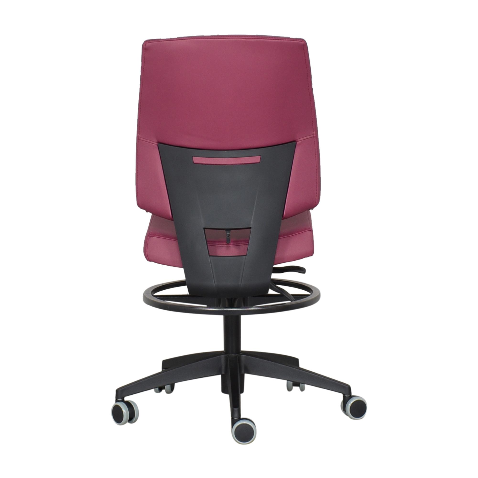 shop Global Furniture Group G1 Ergo Select Armless Medium Back Chair  Global Furniture Group Chairs