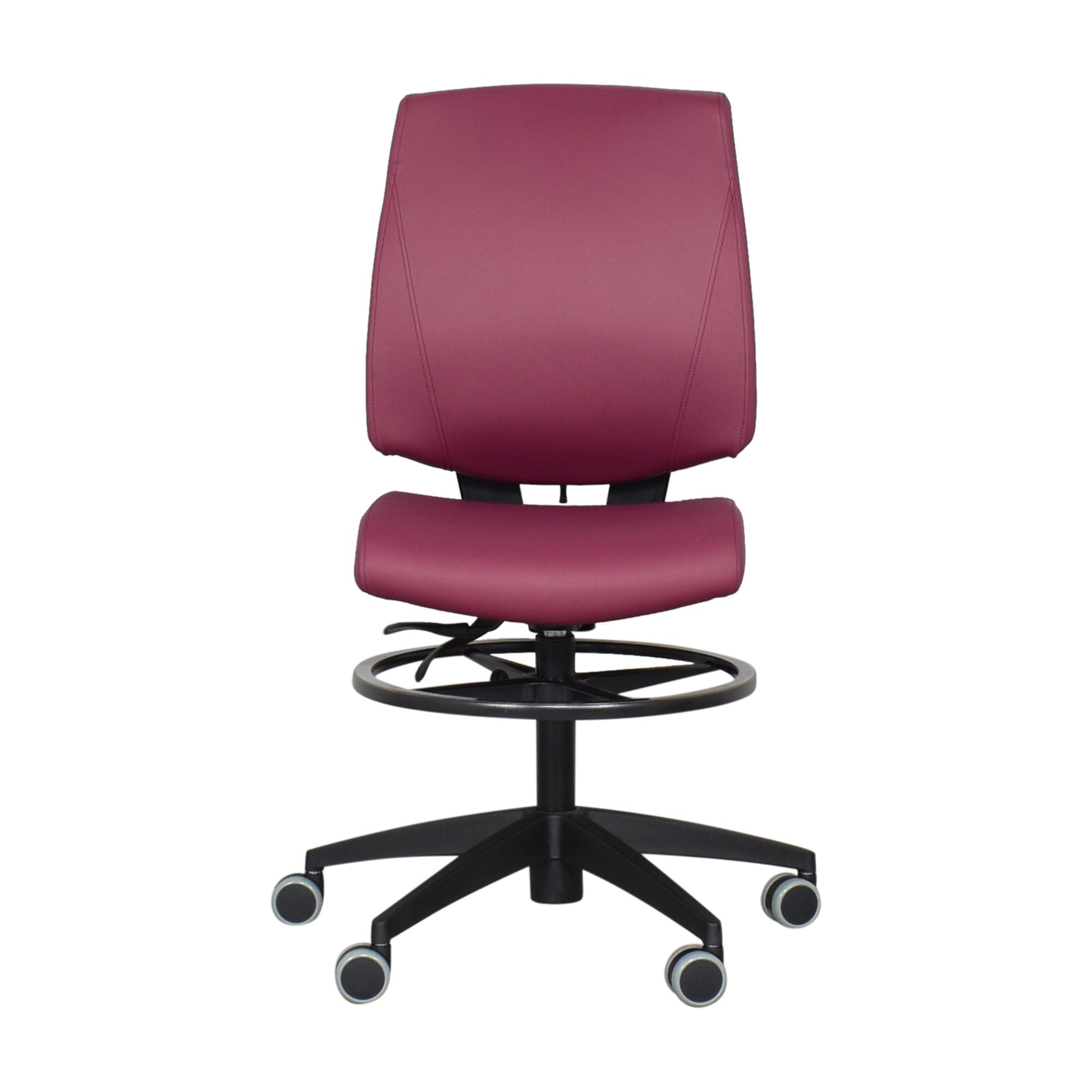 Global Furniture Group Global Furniture Group G1 Ergo Select Armless Medium Back Chair  ct