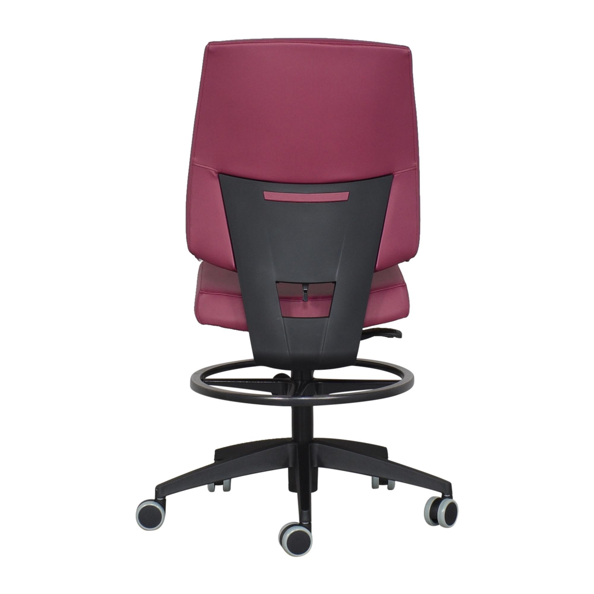 Global Furniture Group Global Furniture Group G1 Ergo Select Drafting Stool nyc