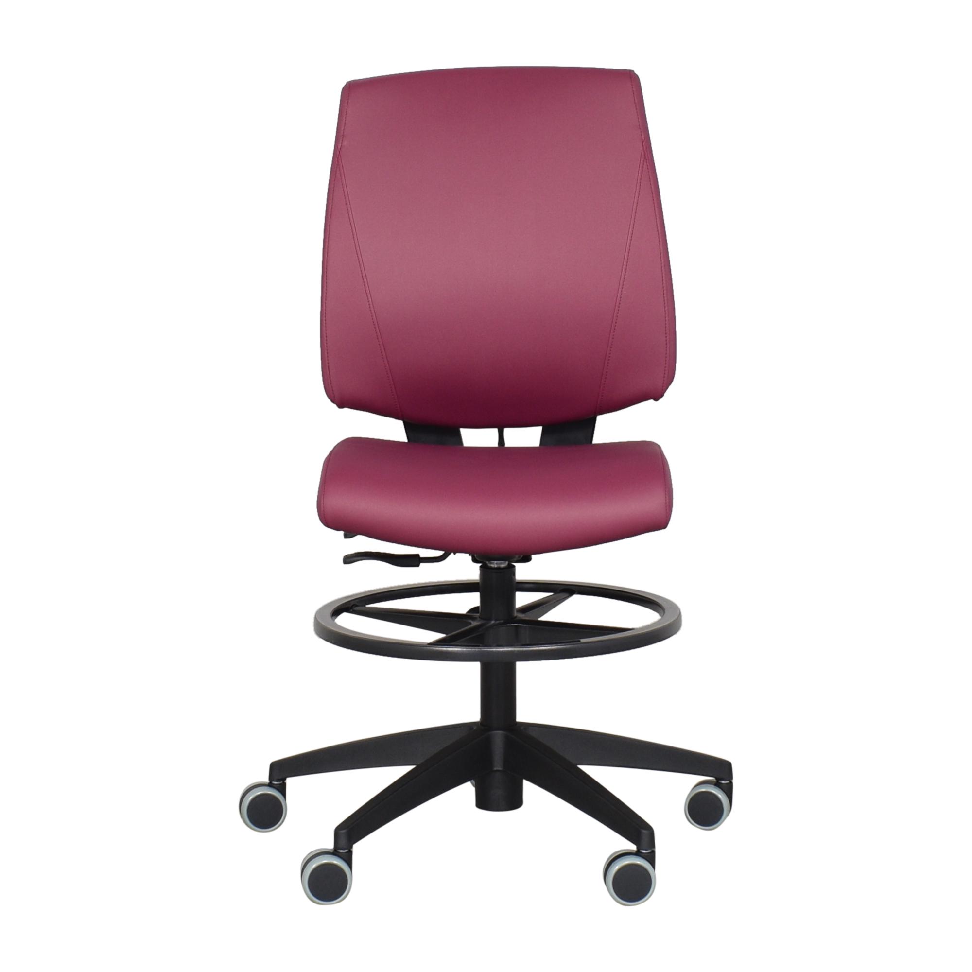 shop Global Furniture Group G1 Ergo Select Drafting Stool Global Furniture Group Chairs
