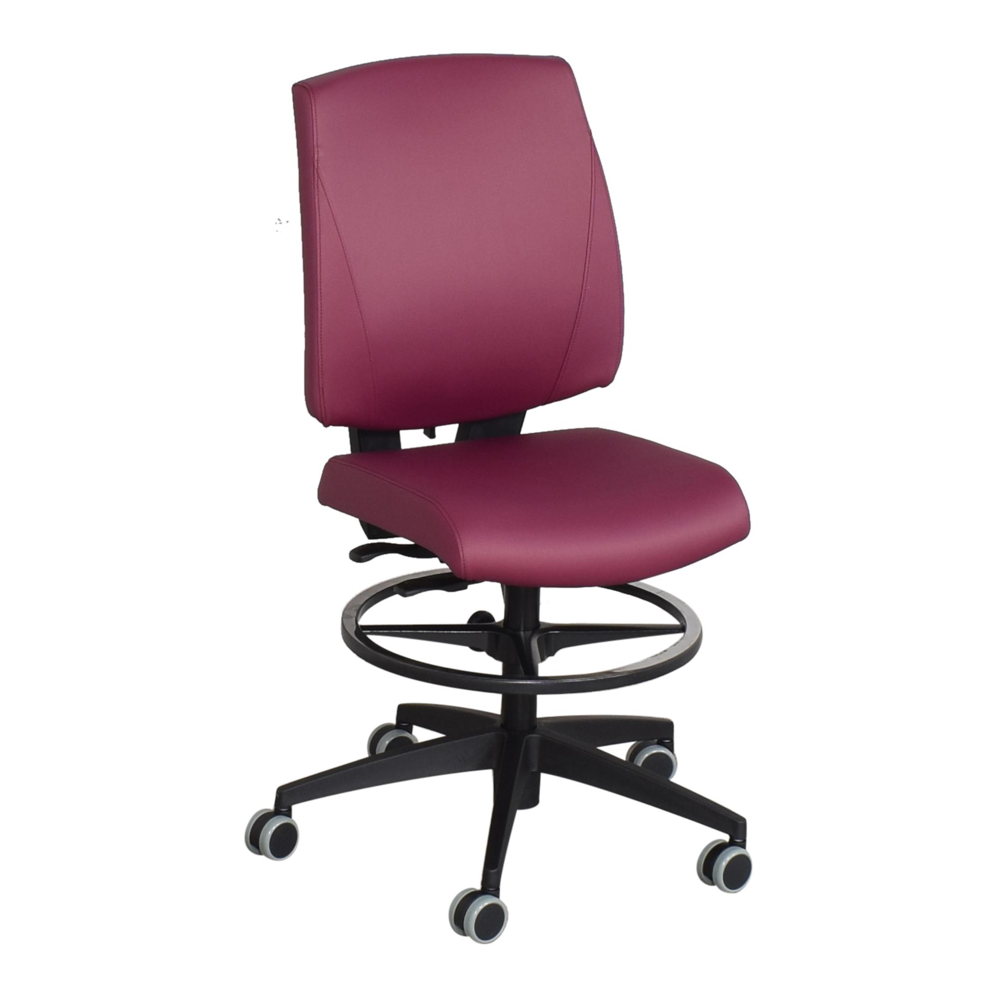 Global Furniture Group Global Furniture Group G1 Ergo Select Drafting Stool dimensions