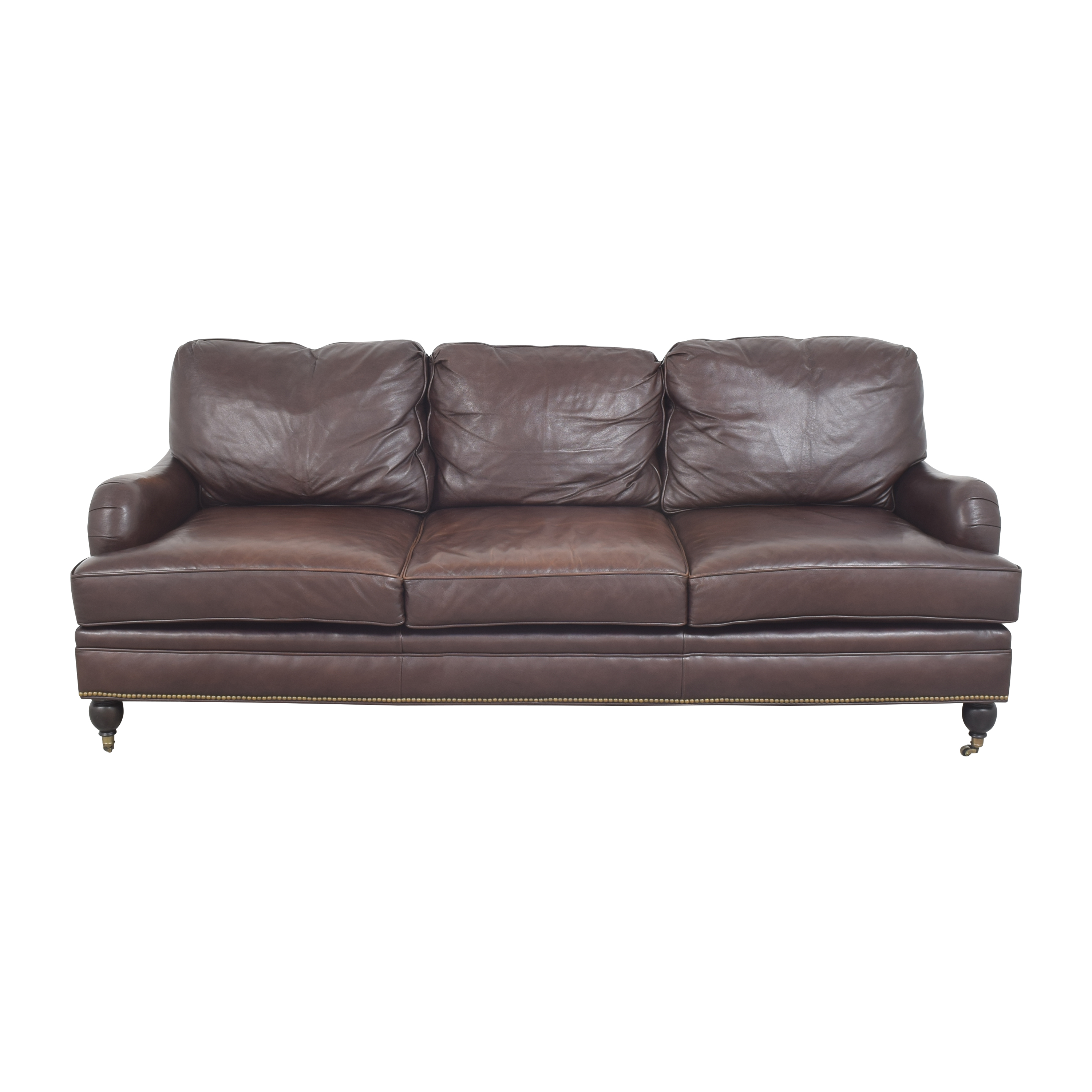 Century Furniture Century Furniture Roll Arm Sofa ct