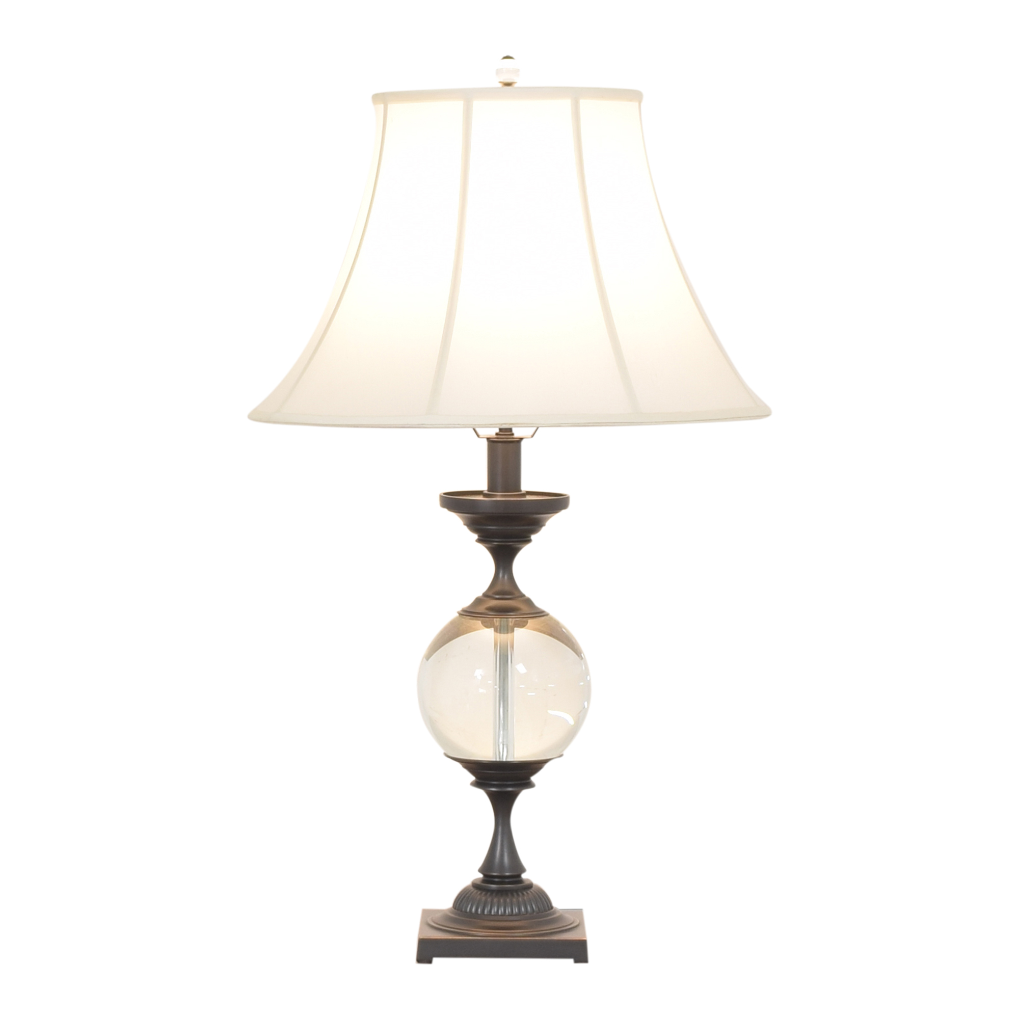 Restoration Hardware Restoration Hardware Crystal Ball Small Urn Table Lamp second hand